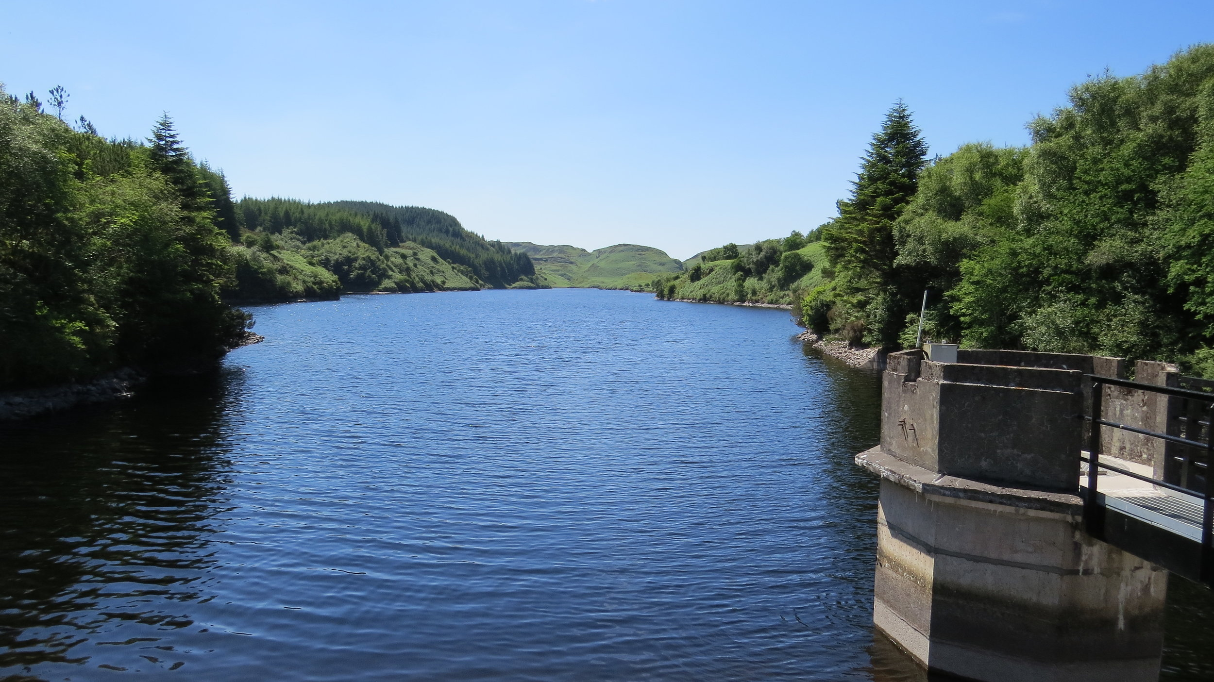 Loch Gleann from Dam
