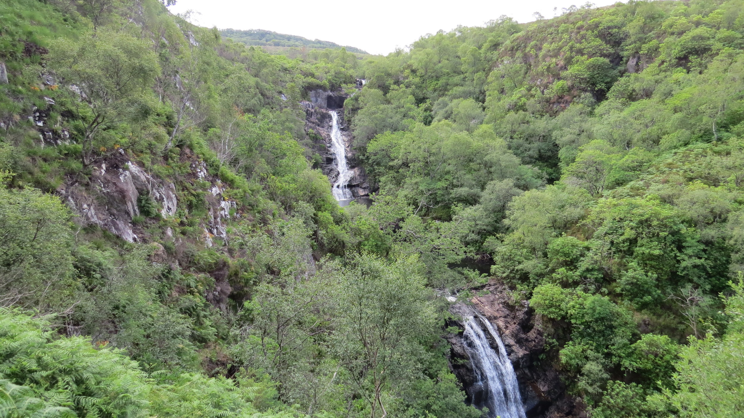 Inchree Waterfall