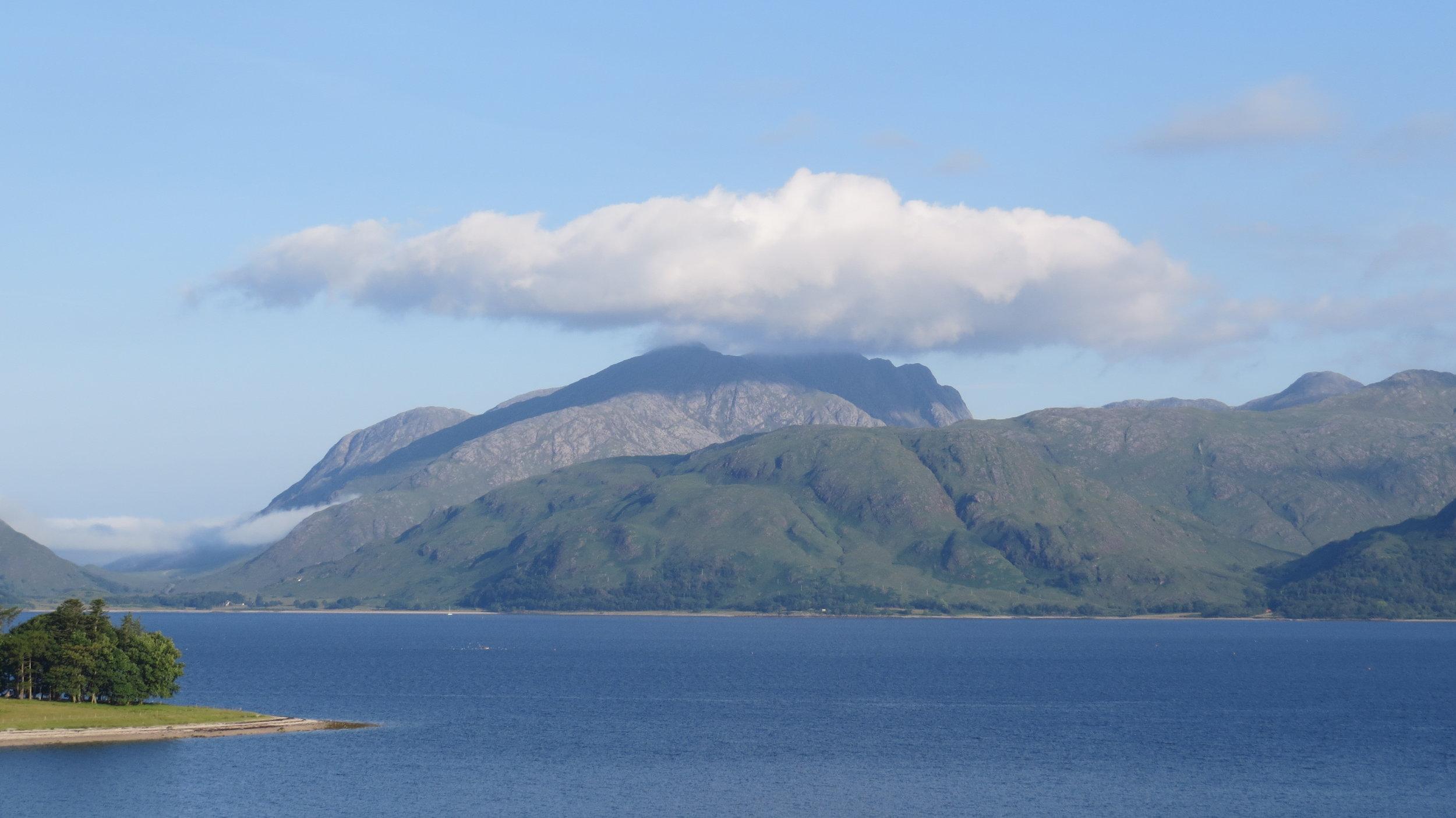 Cloud topped Mountain