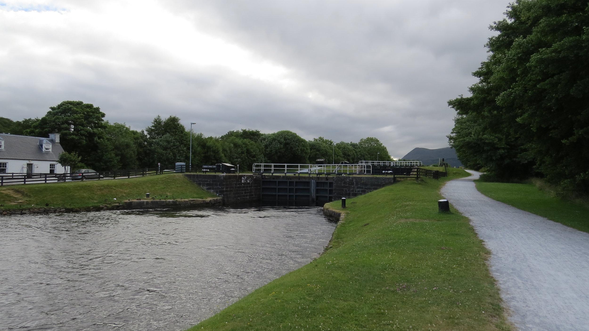 Caledonian Canal Locks