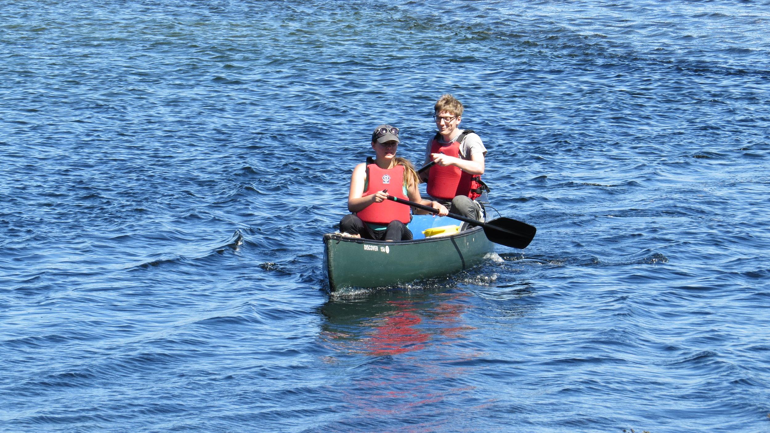 The Kayaking Couple