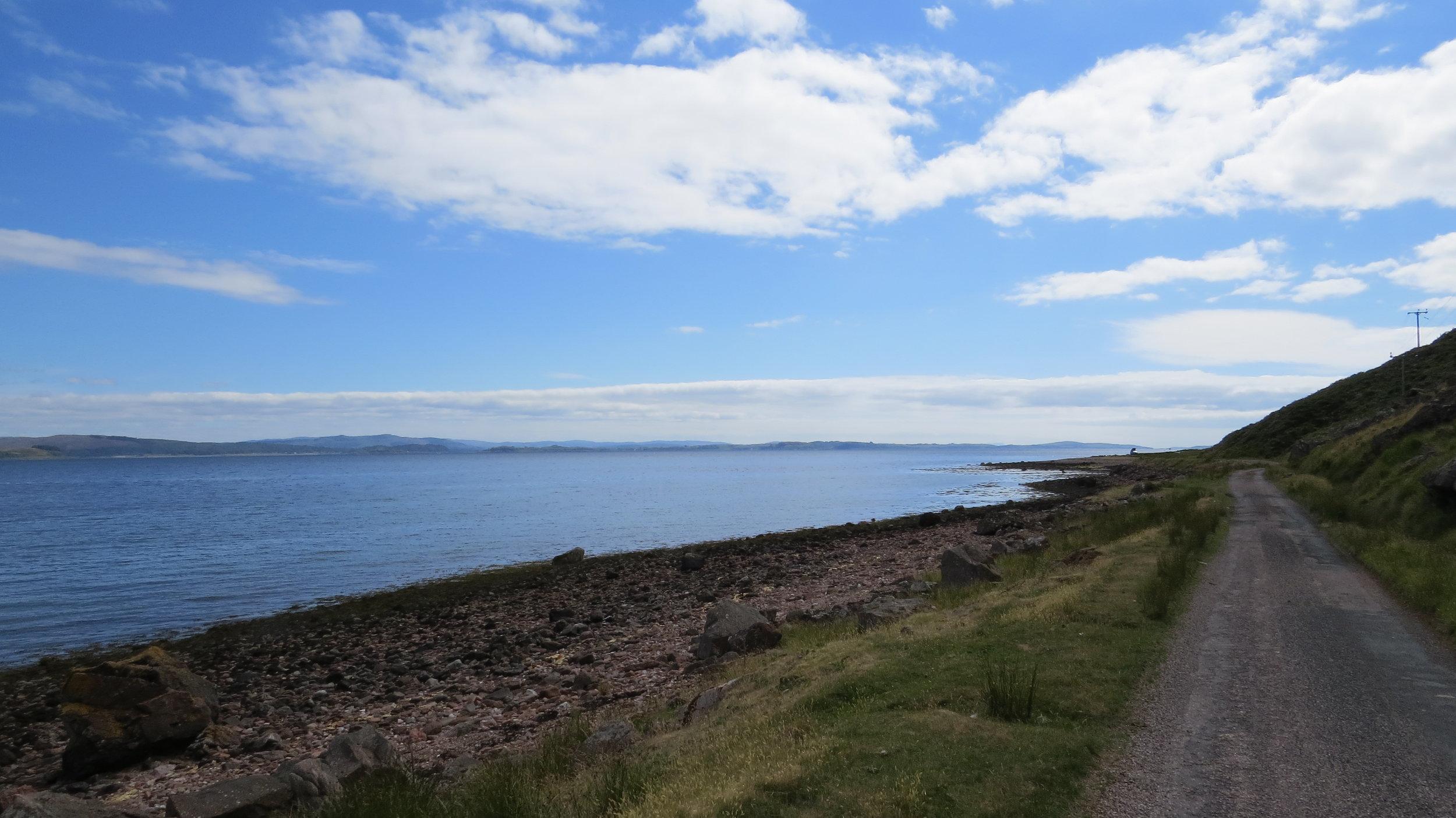 Road to Kingairloch I