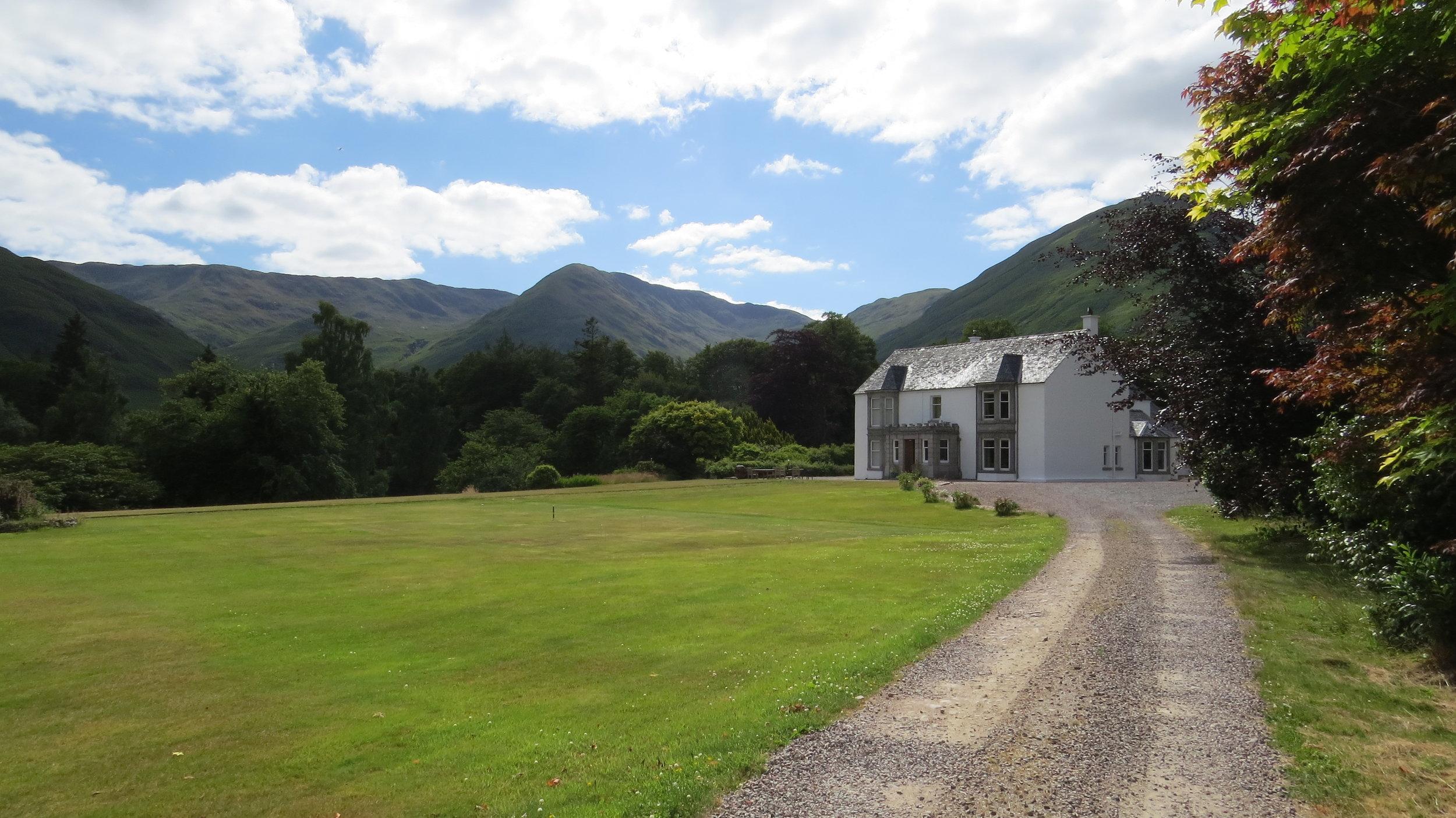 Kingairloch House