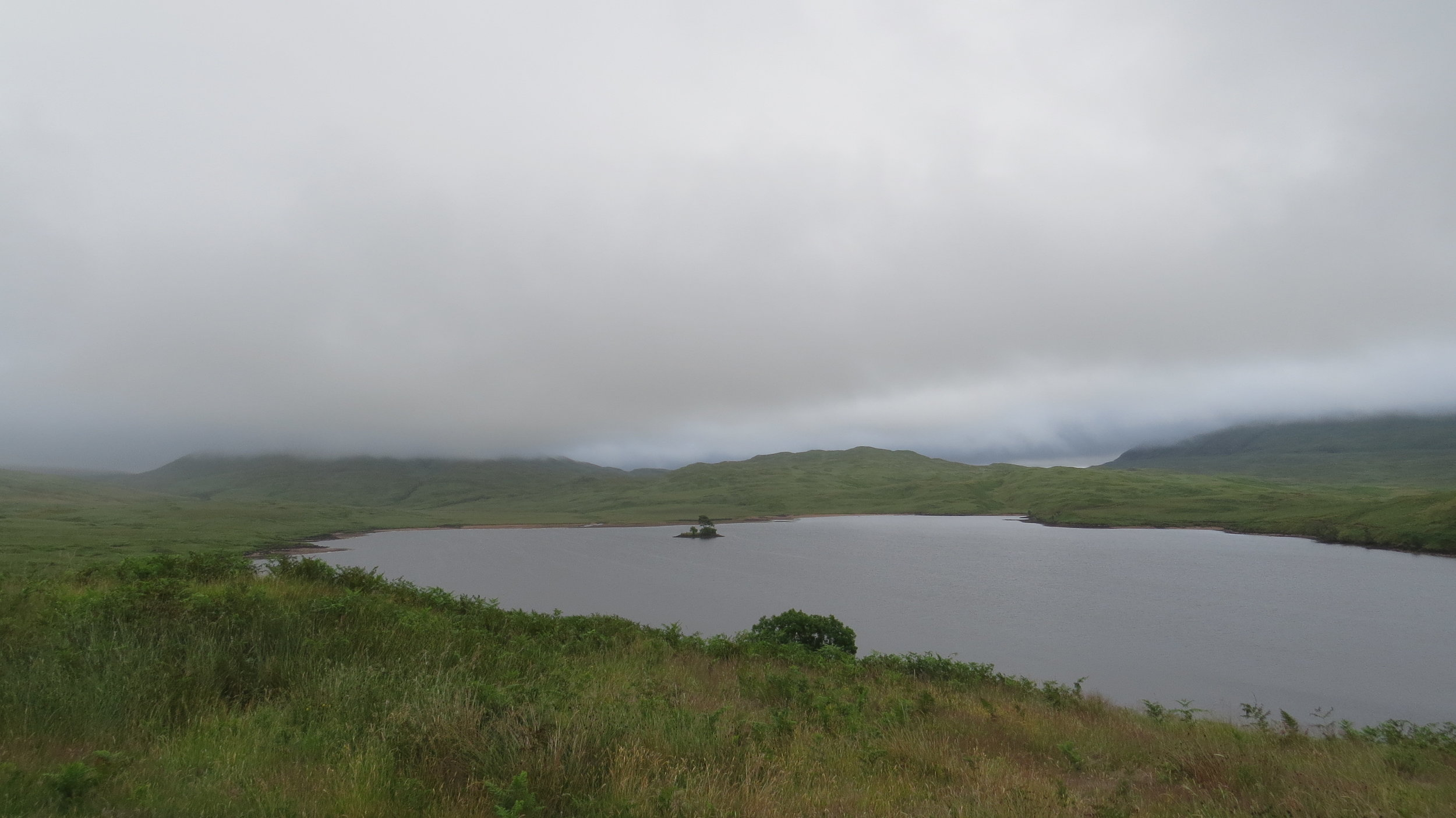Murky View from Bothy