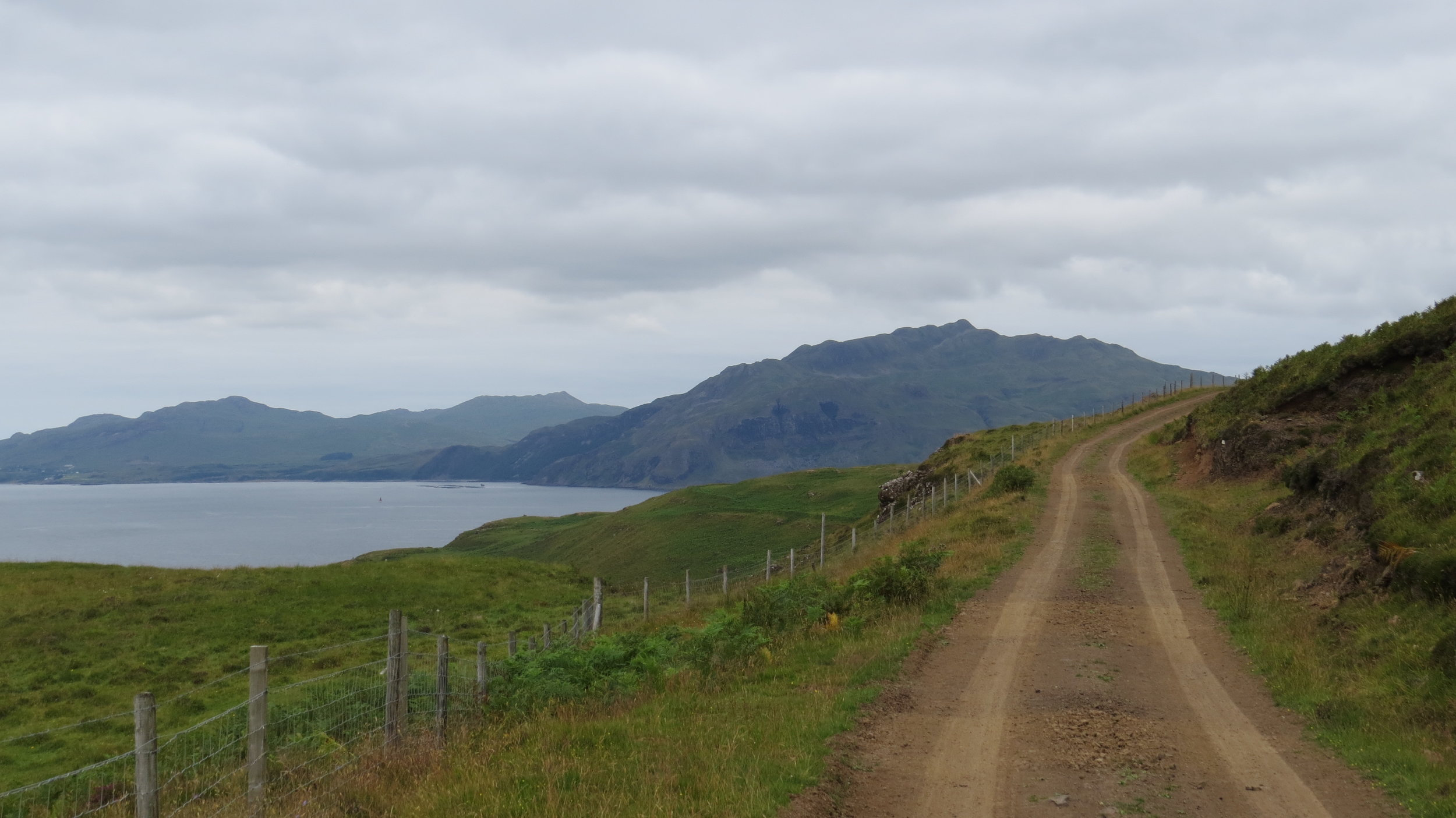 View over towards Kilchoan