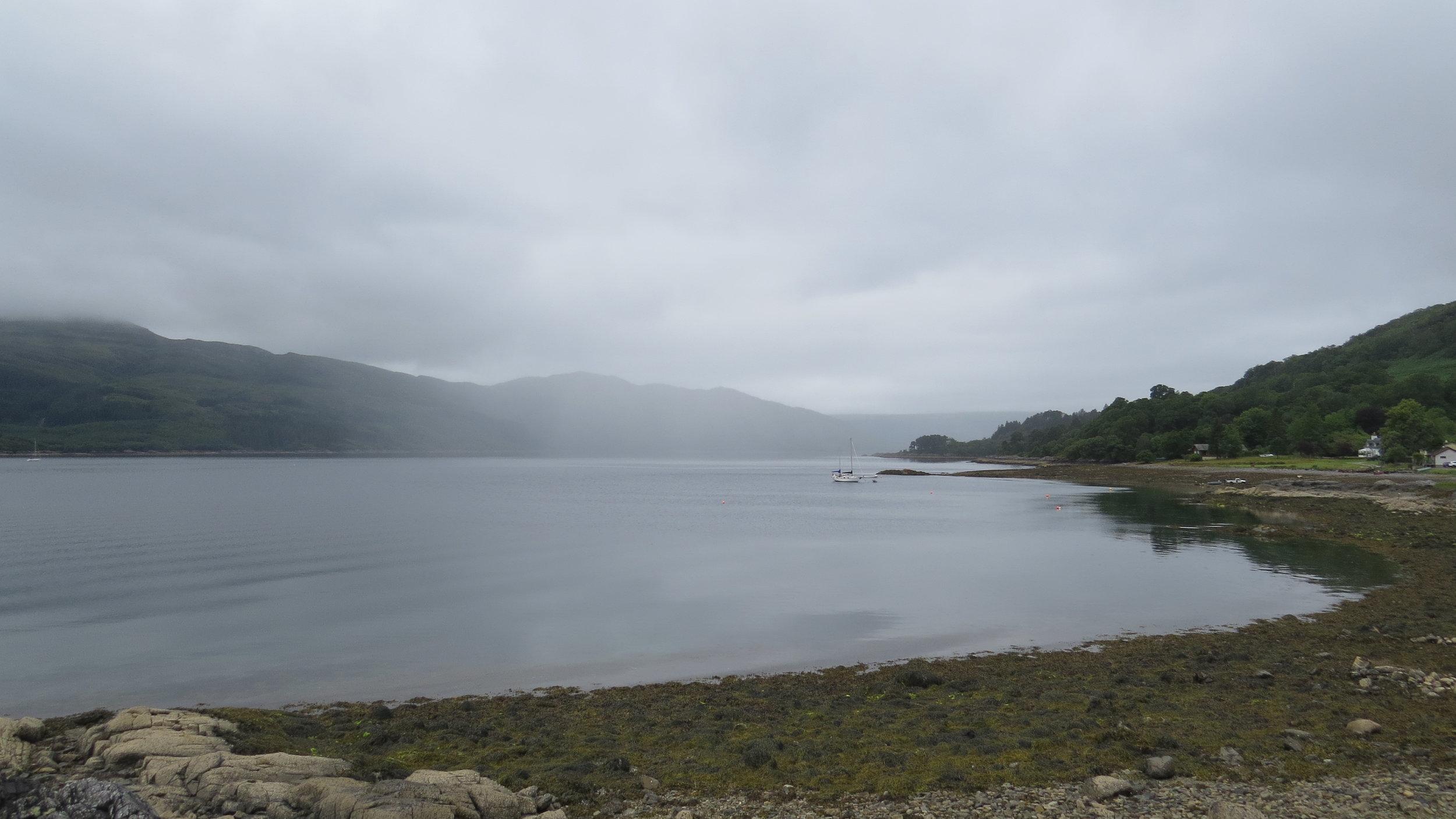 Slighty less Murky Loch Sunart