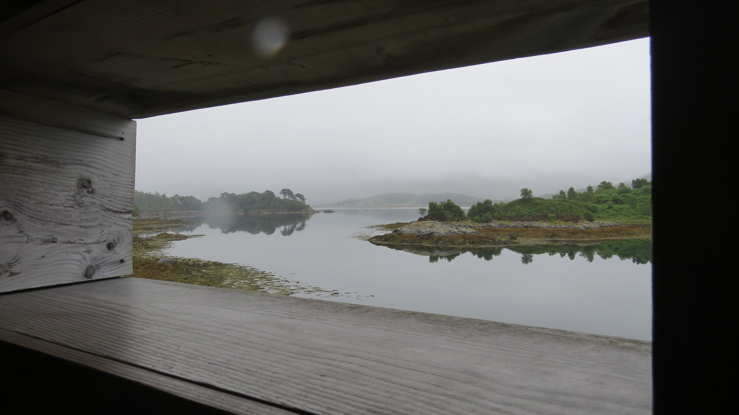 View from Hide