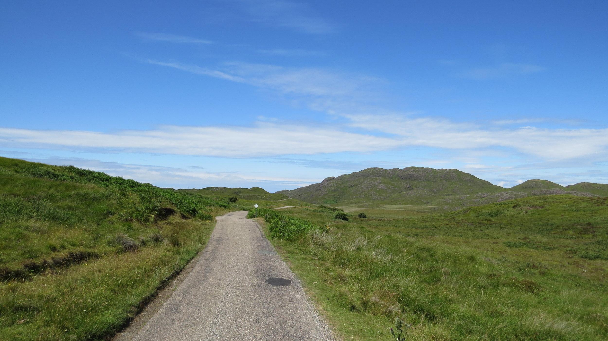 Road to Ardnamurchan Point