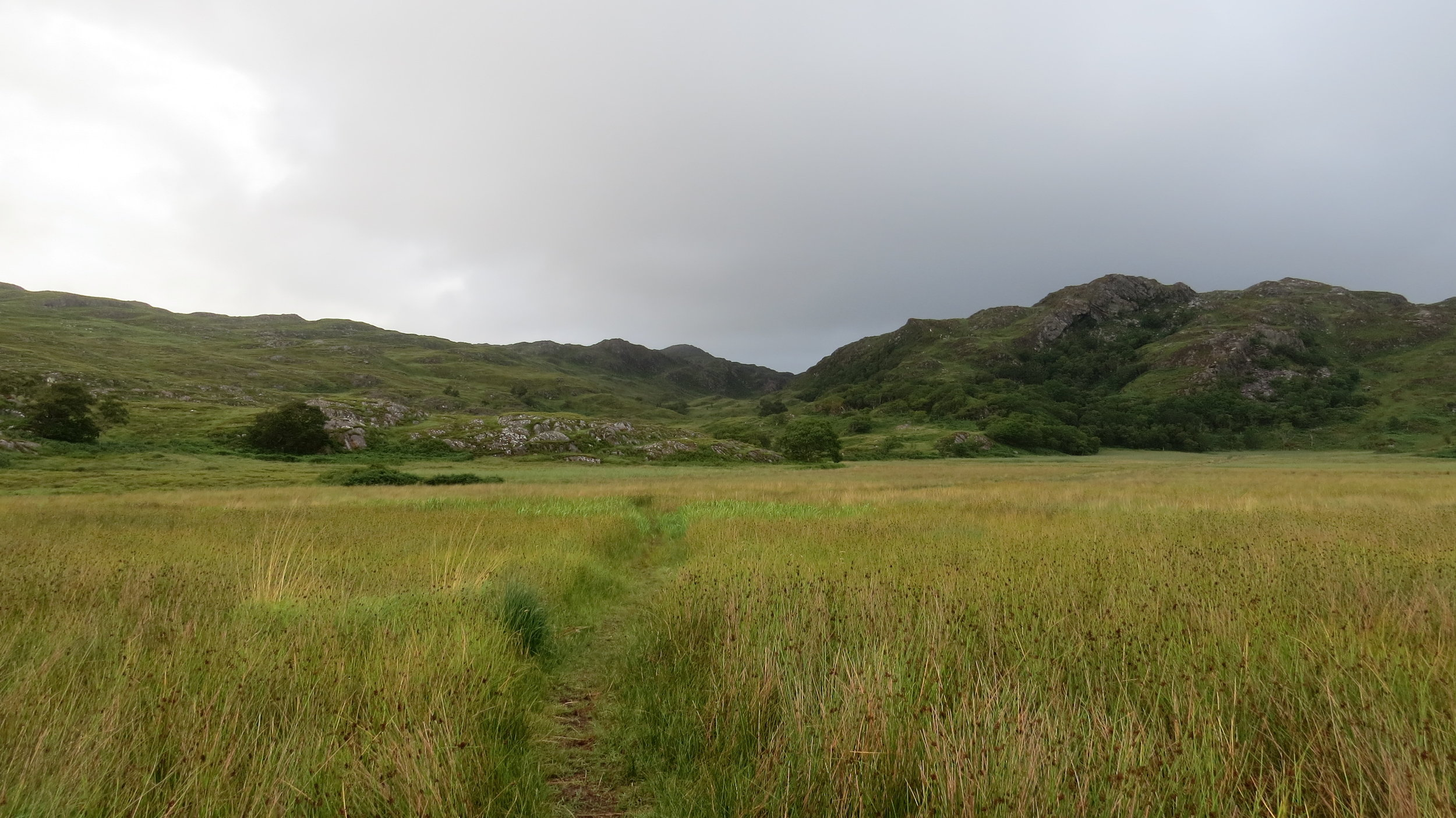 Walking away from the Bothy