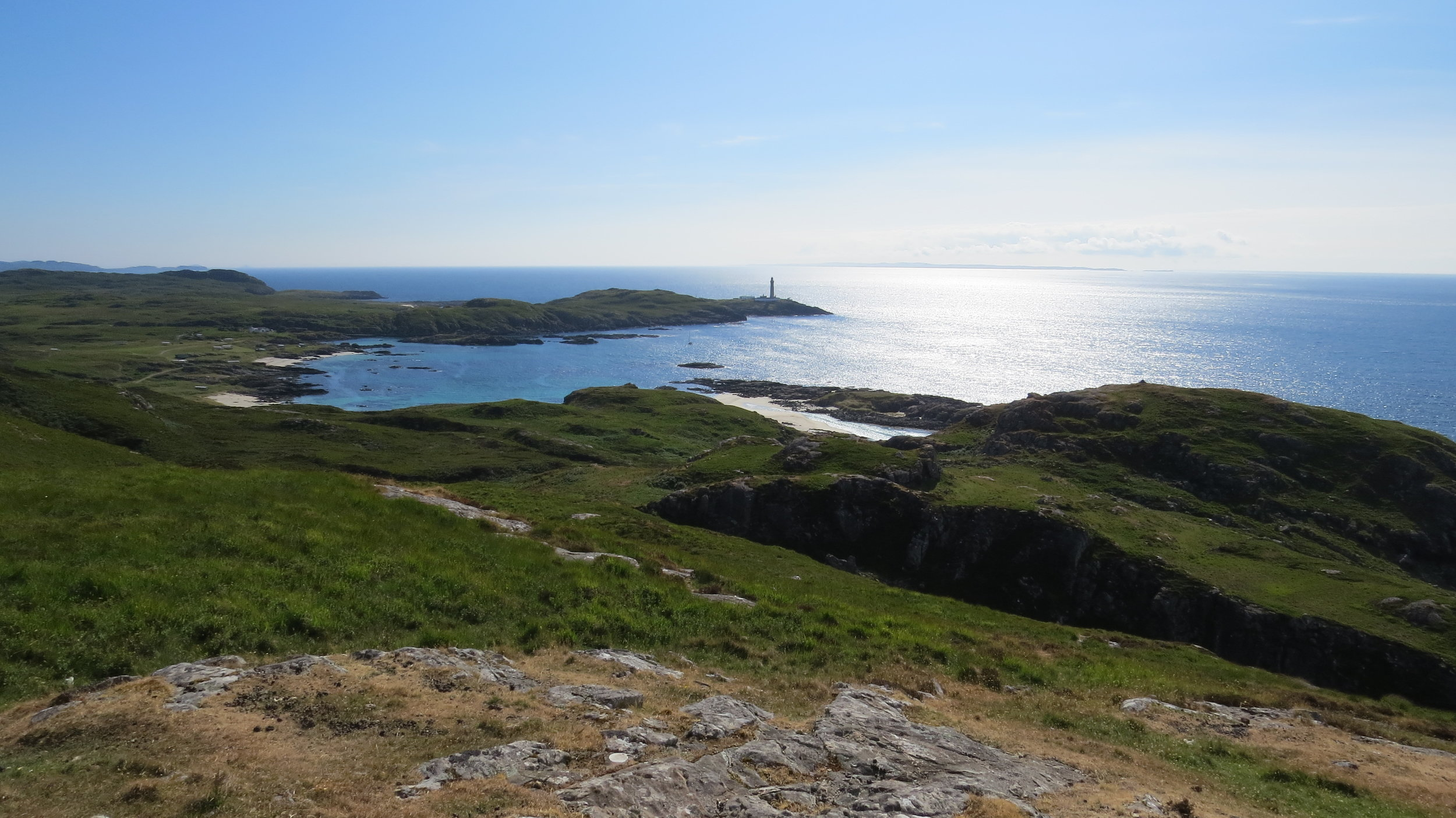 Looking Back to Ardnamurchan Lighthouse