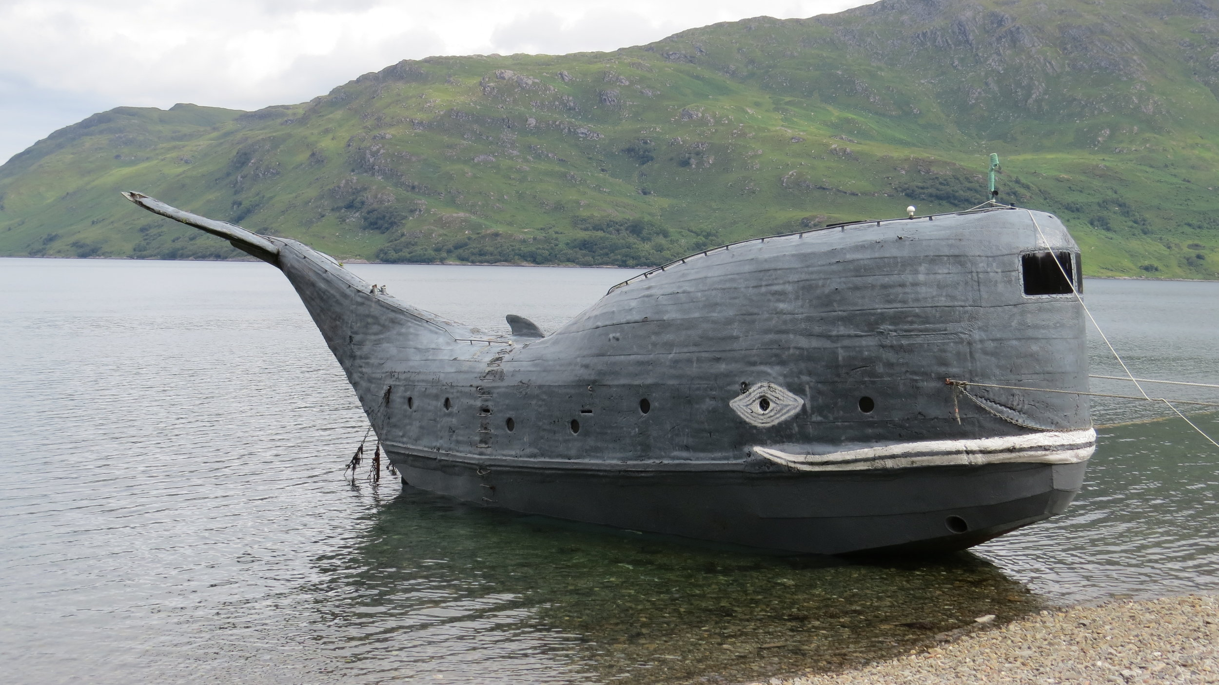 Strange Whale Boat