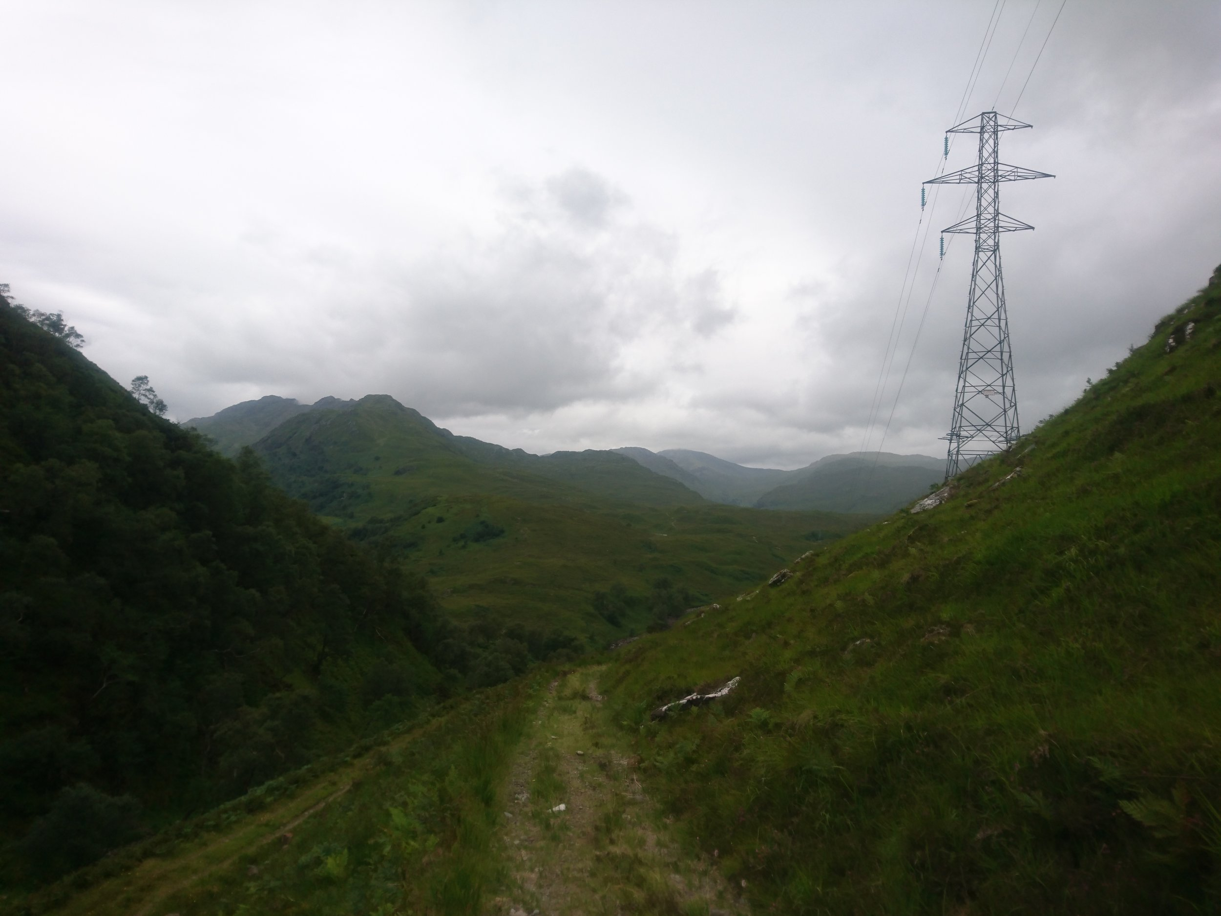 Following the Pylons