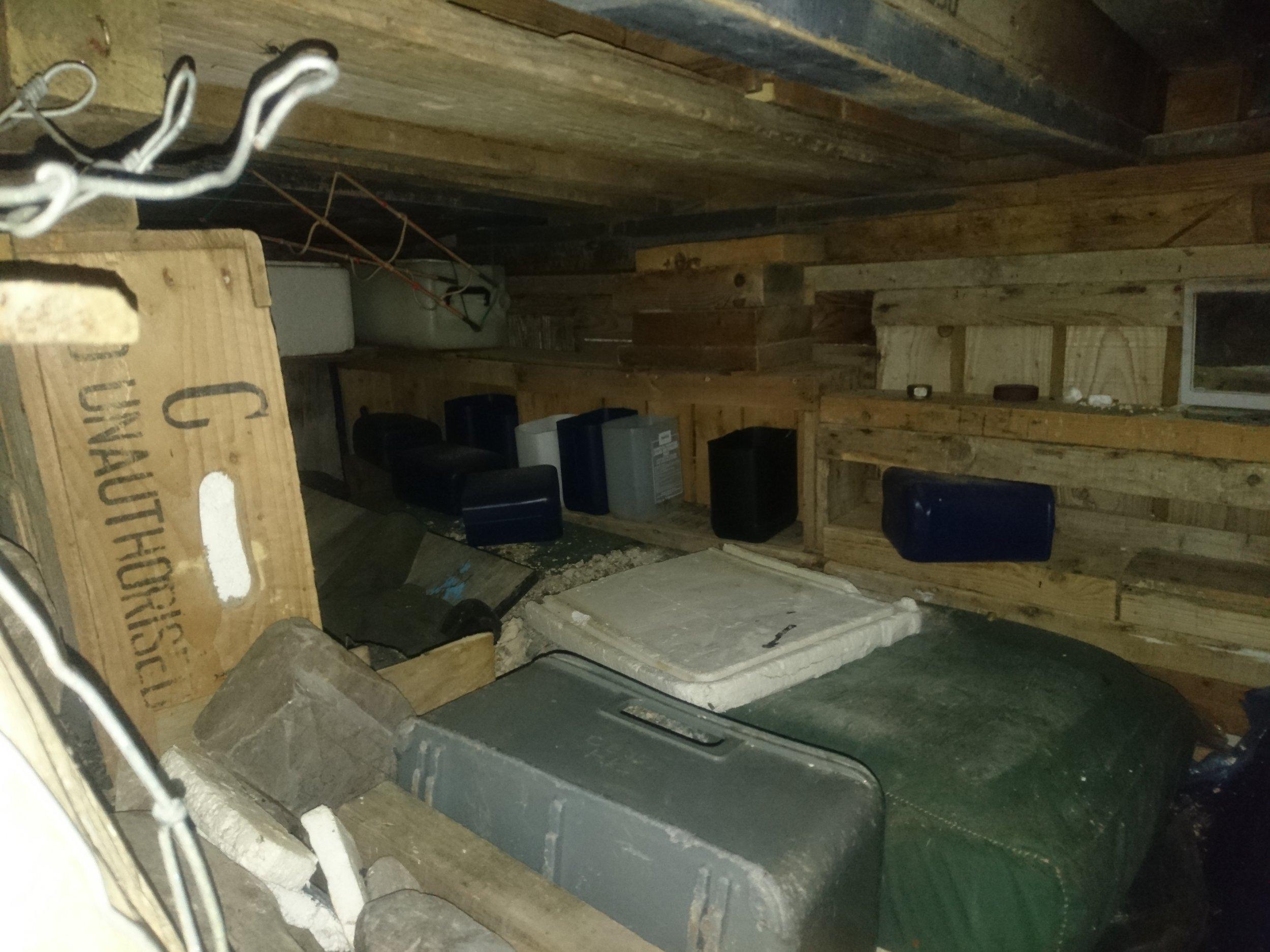 Bedroom in random house/bothy