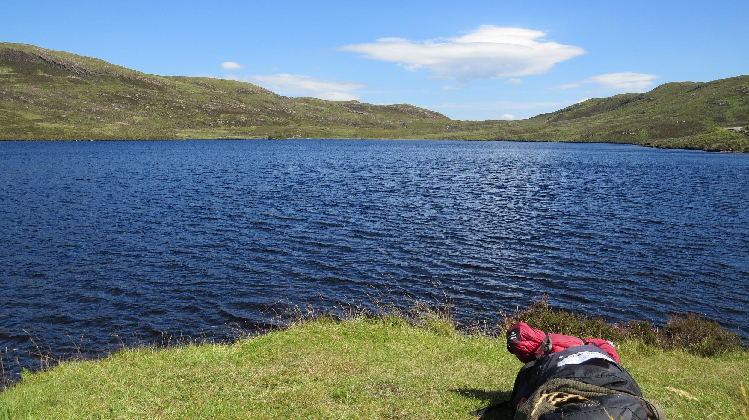 Lunch by Loch Dhughaill