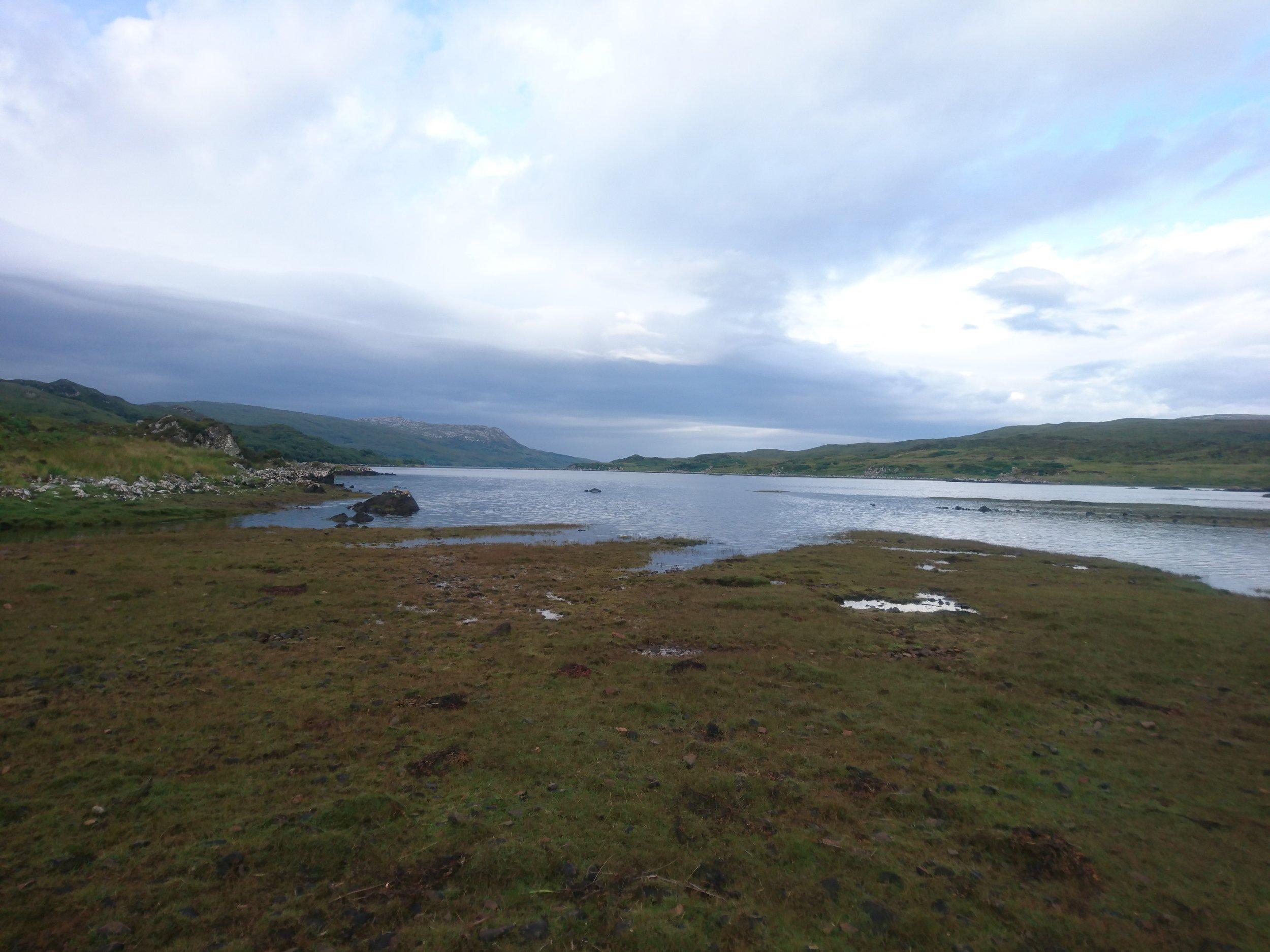 End of Loch Eishort