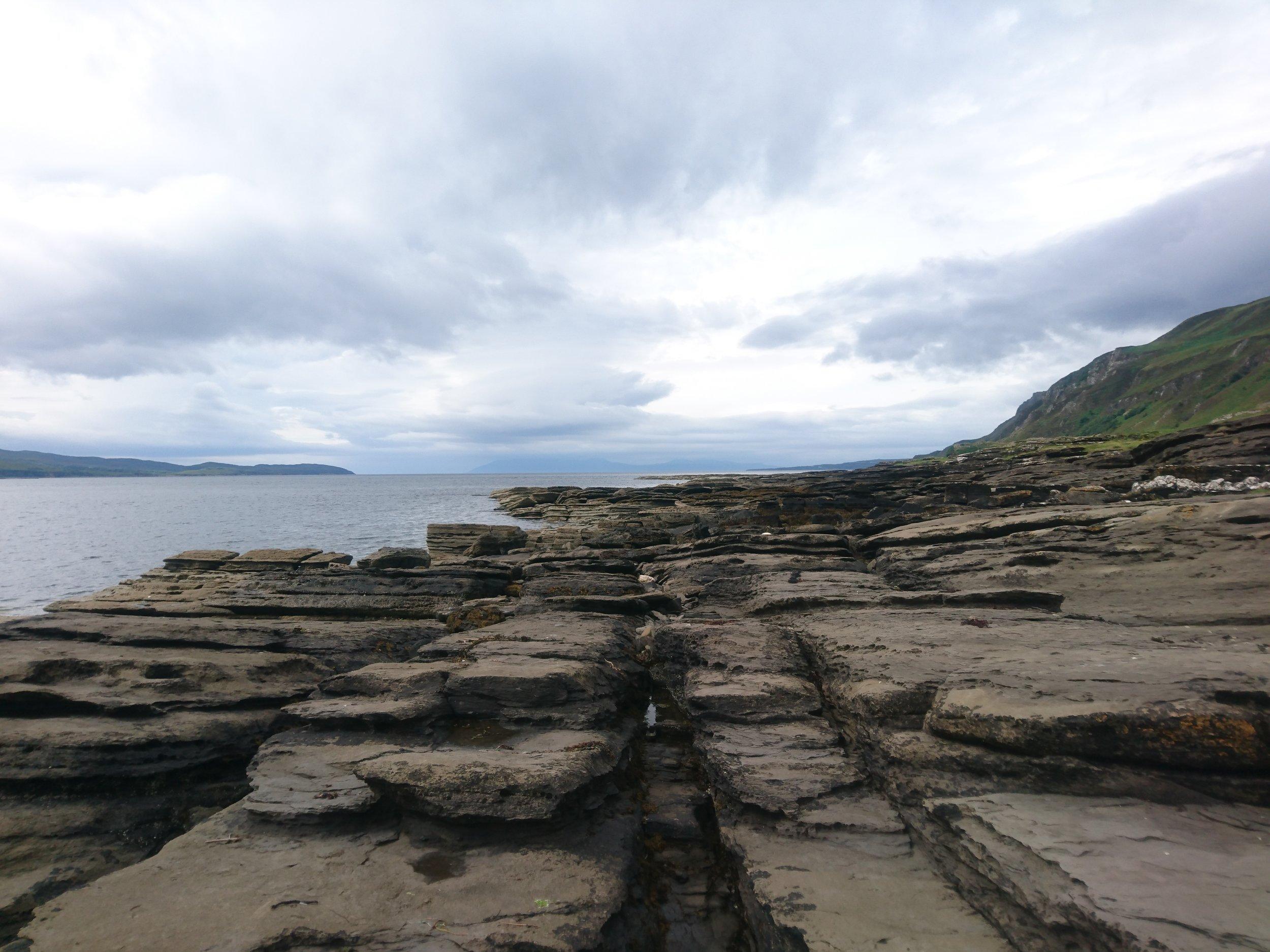 Rock Slab Terraces
