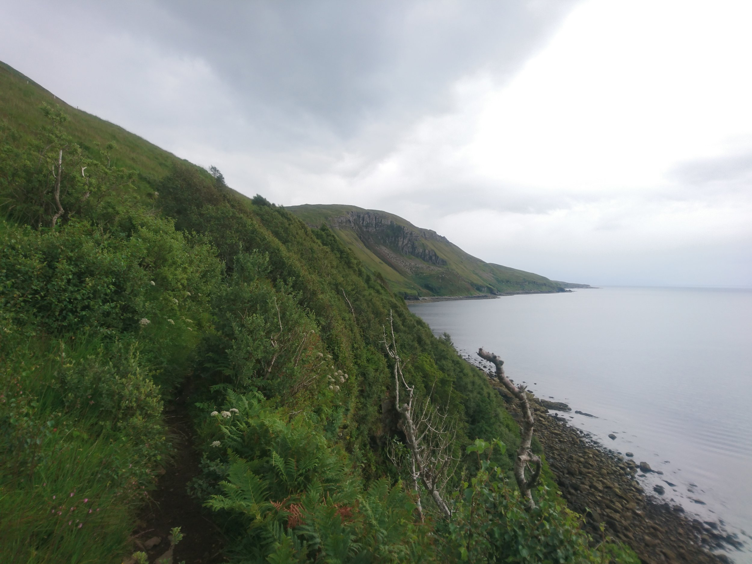 Narrow Path to Camasunary