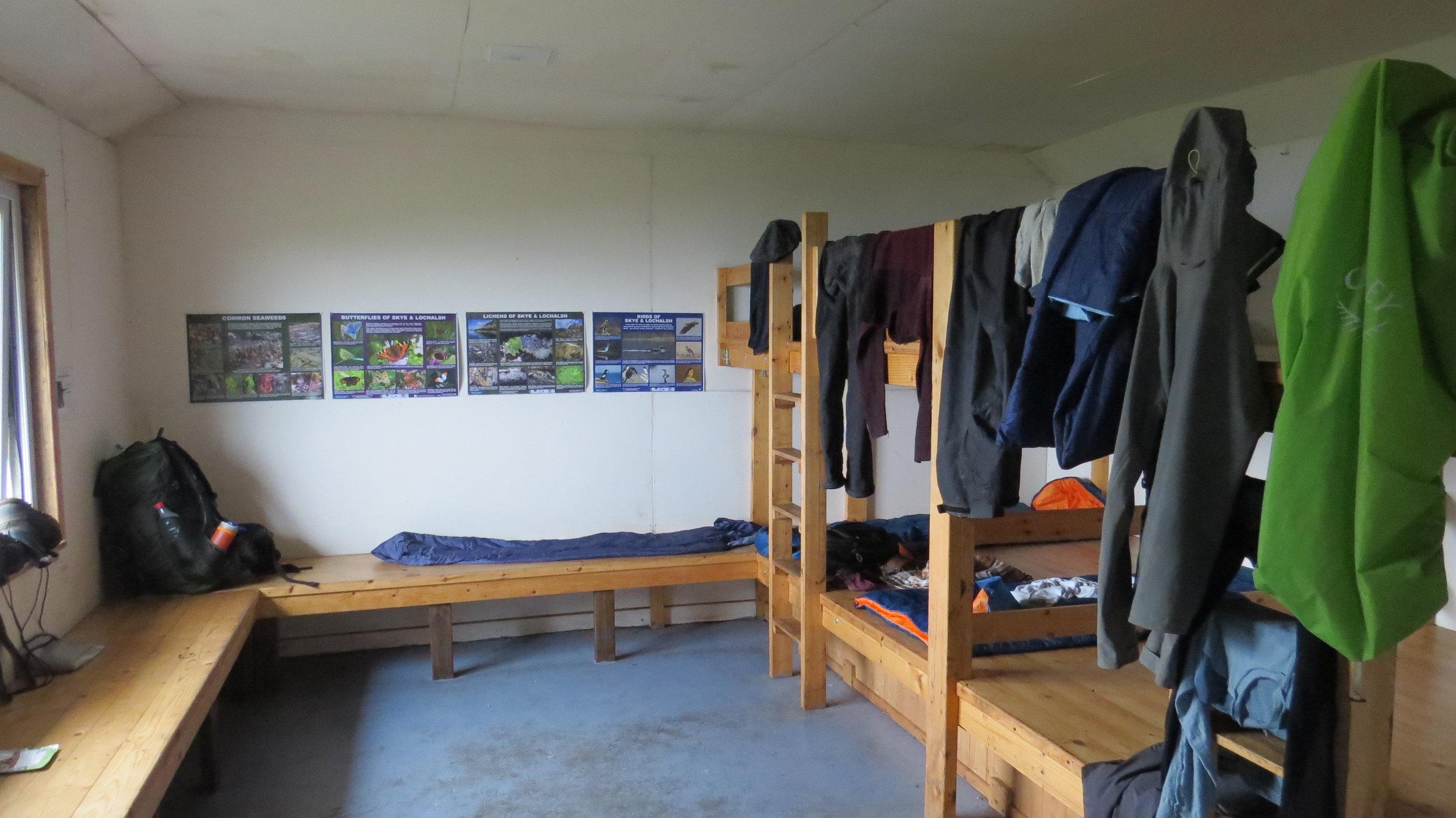 Sleeping Area Camasunary Bothy