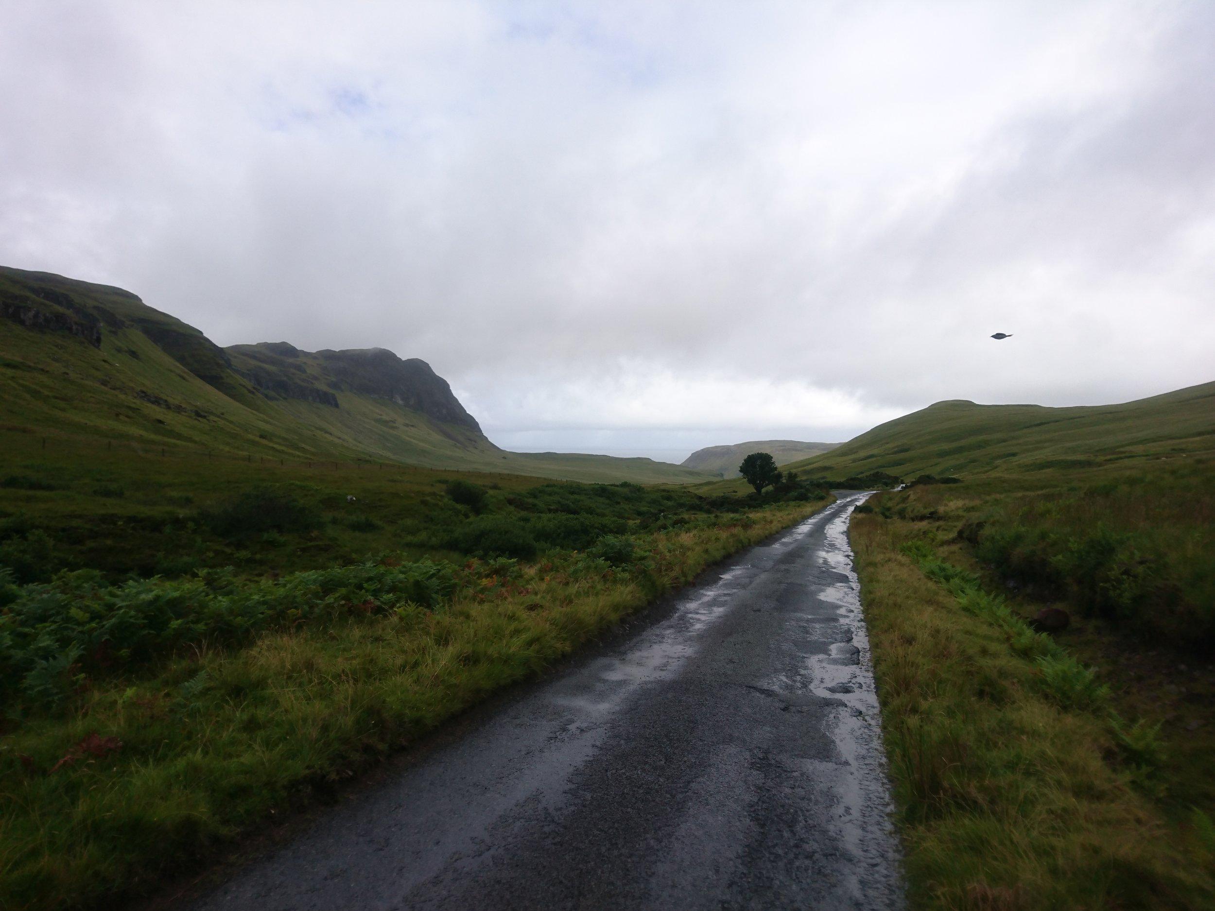 Road down to Tallisker