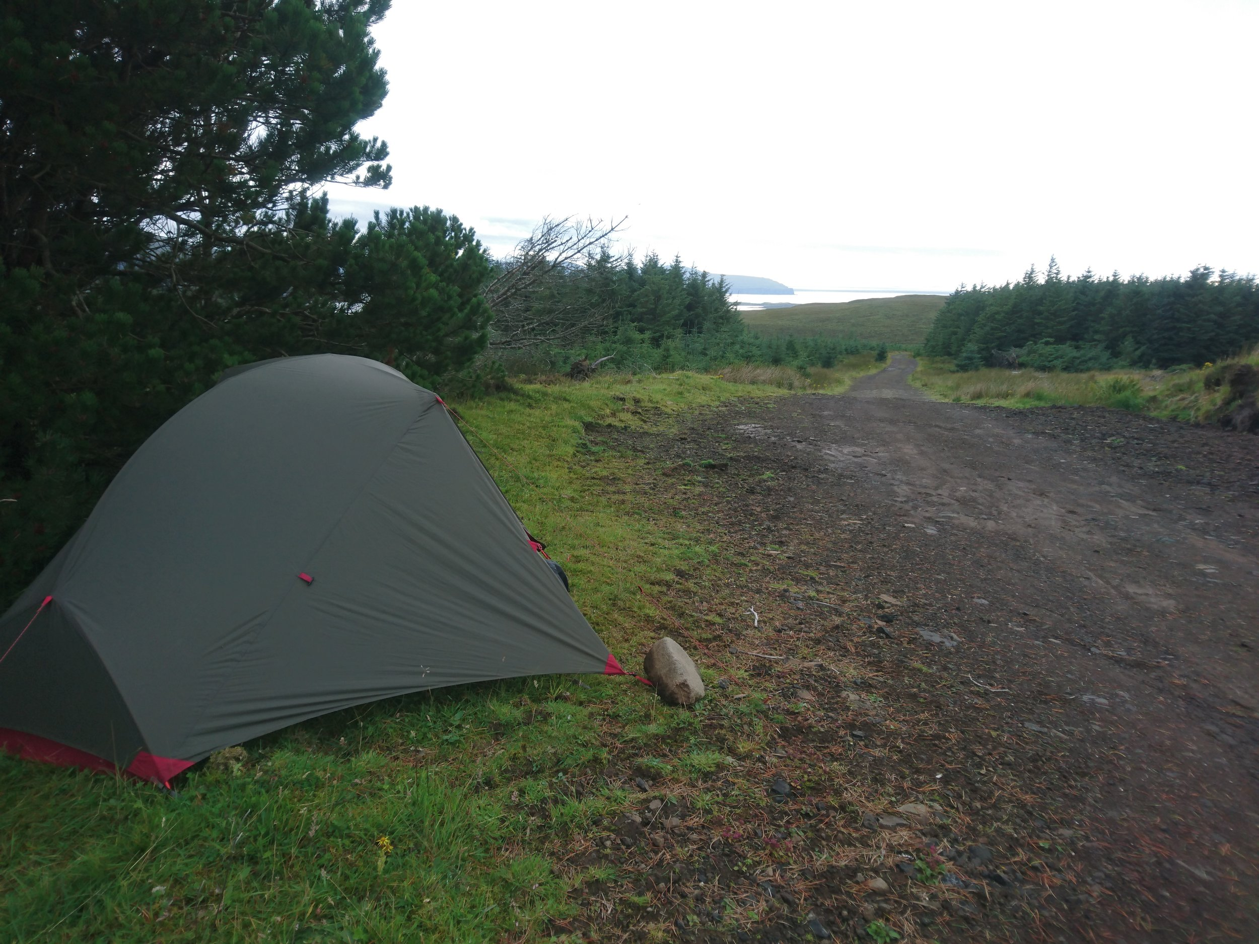 Tight Tent Pitch