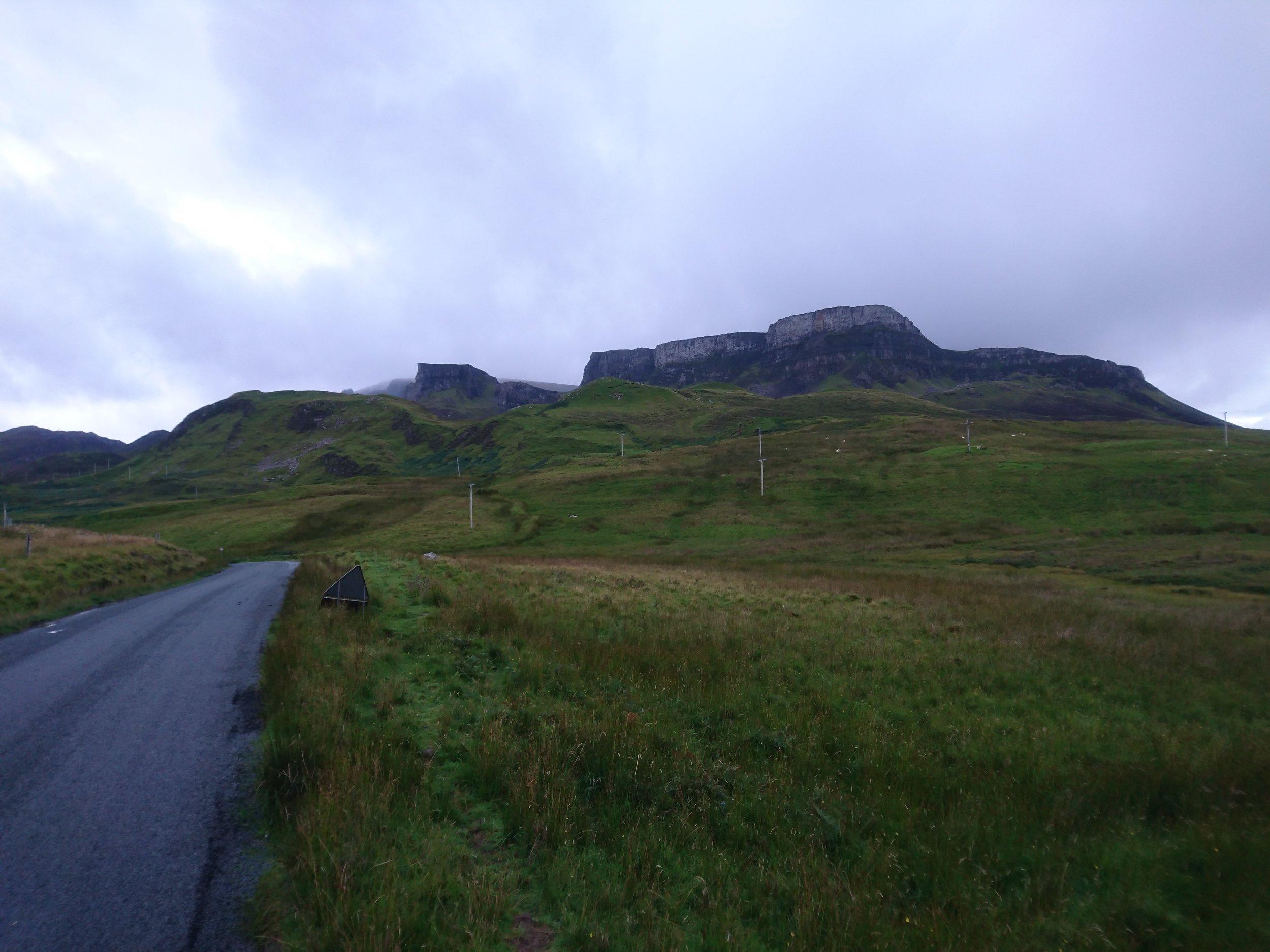Looking towards Trotternish Ridge