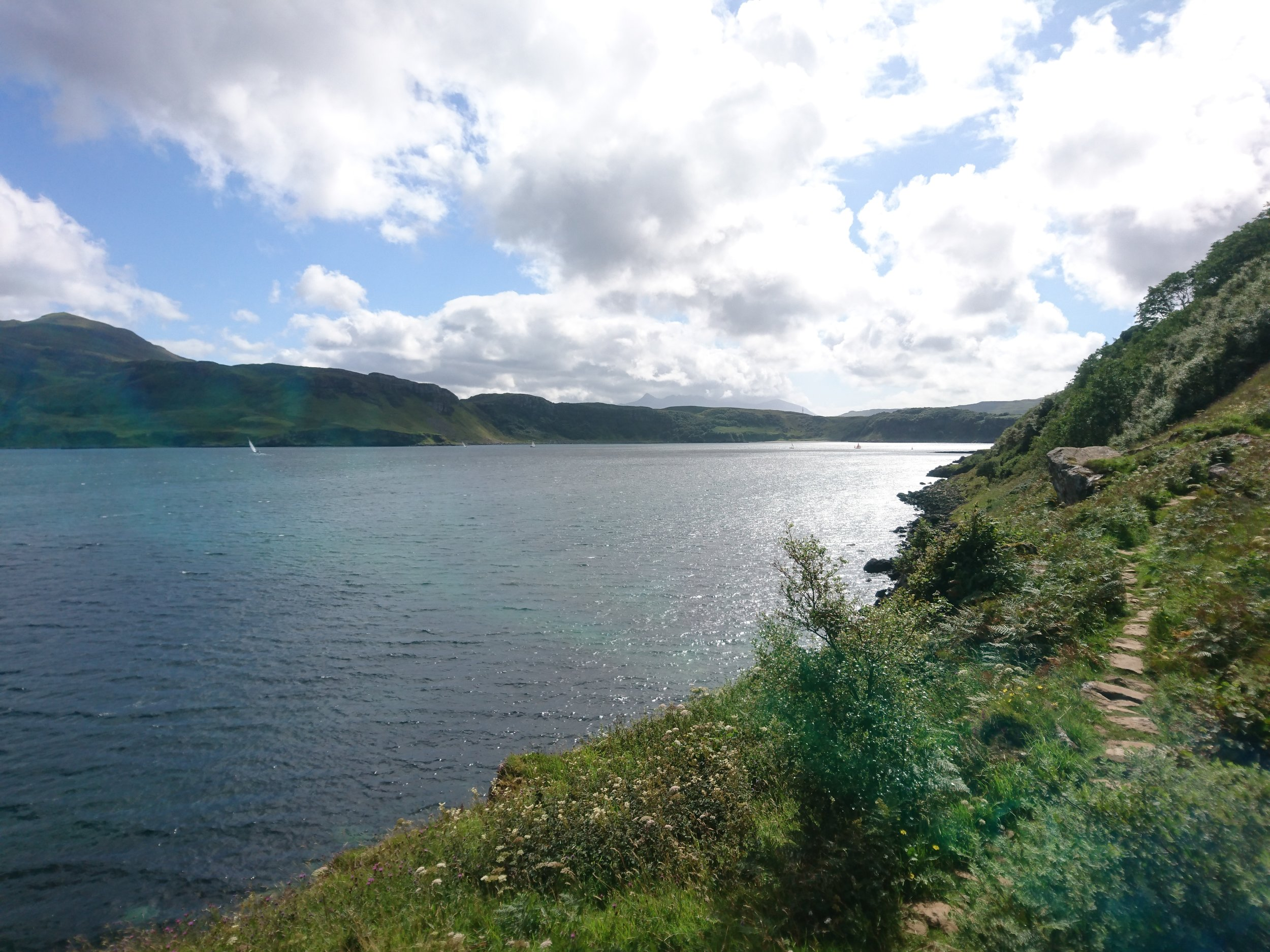 FInal path to Portree