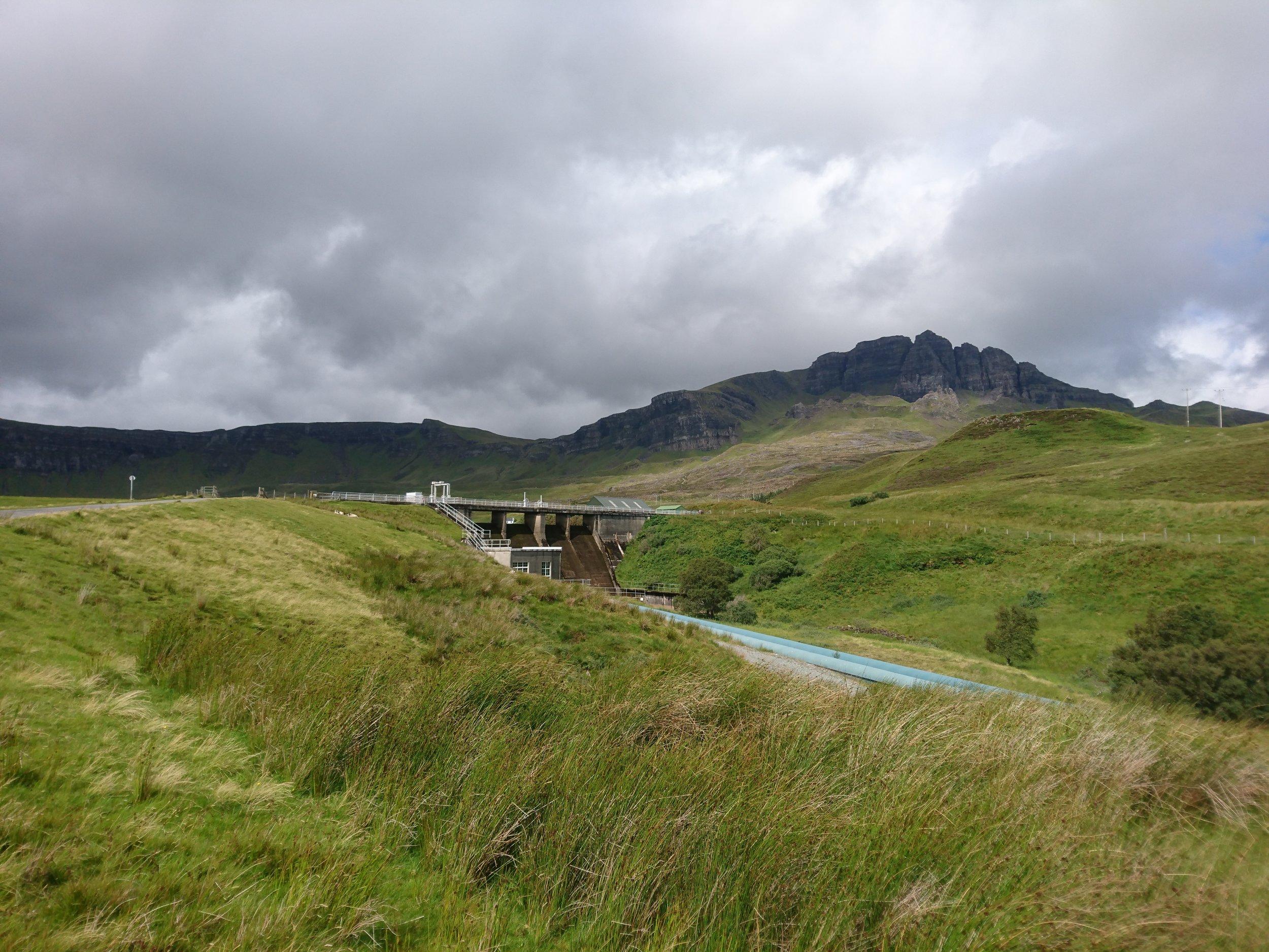 Loch Leathan Hydro Scheme