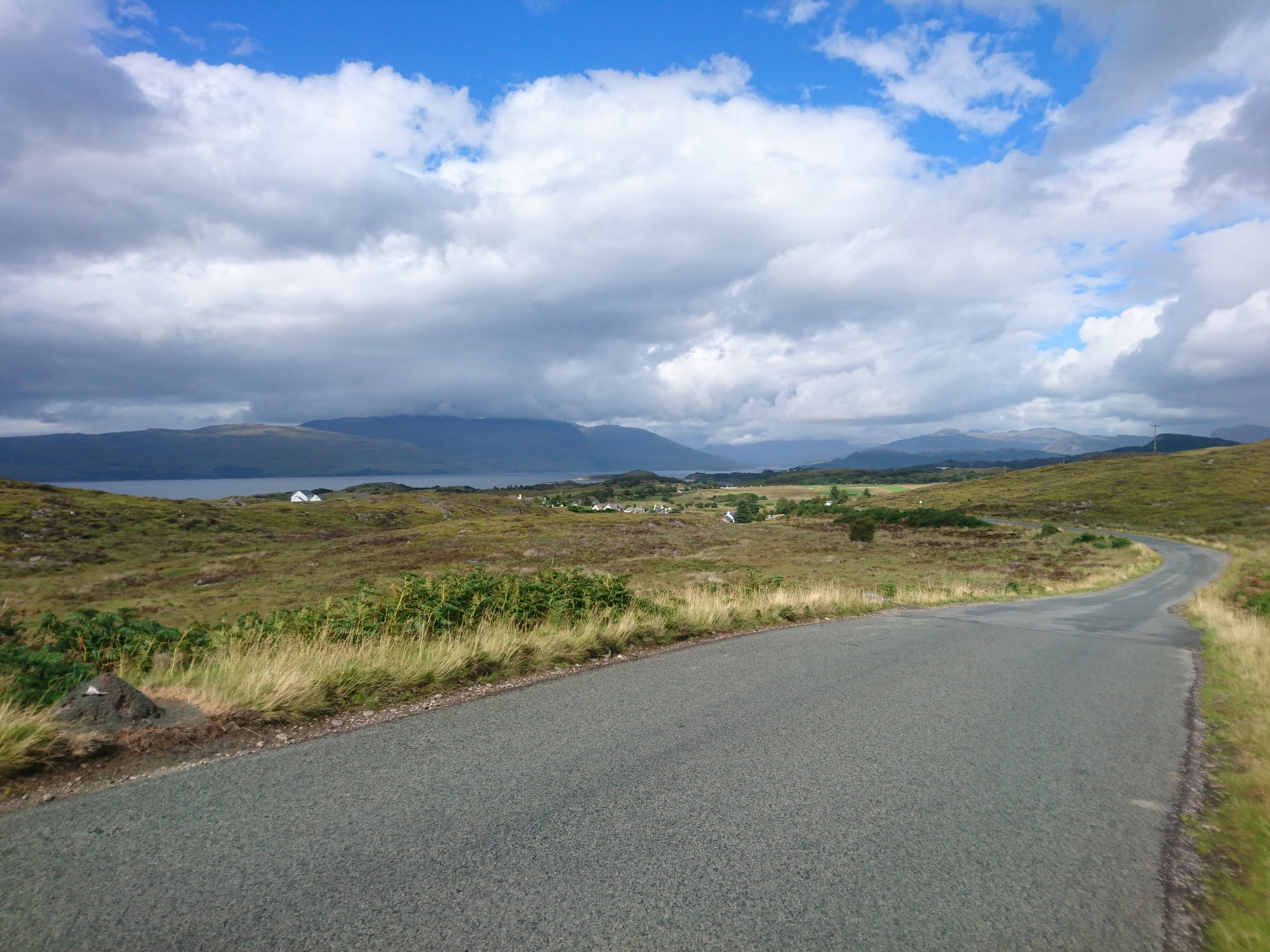 Road towards Plockton