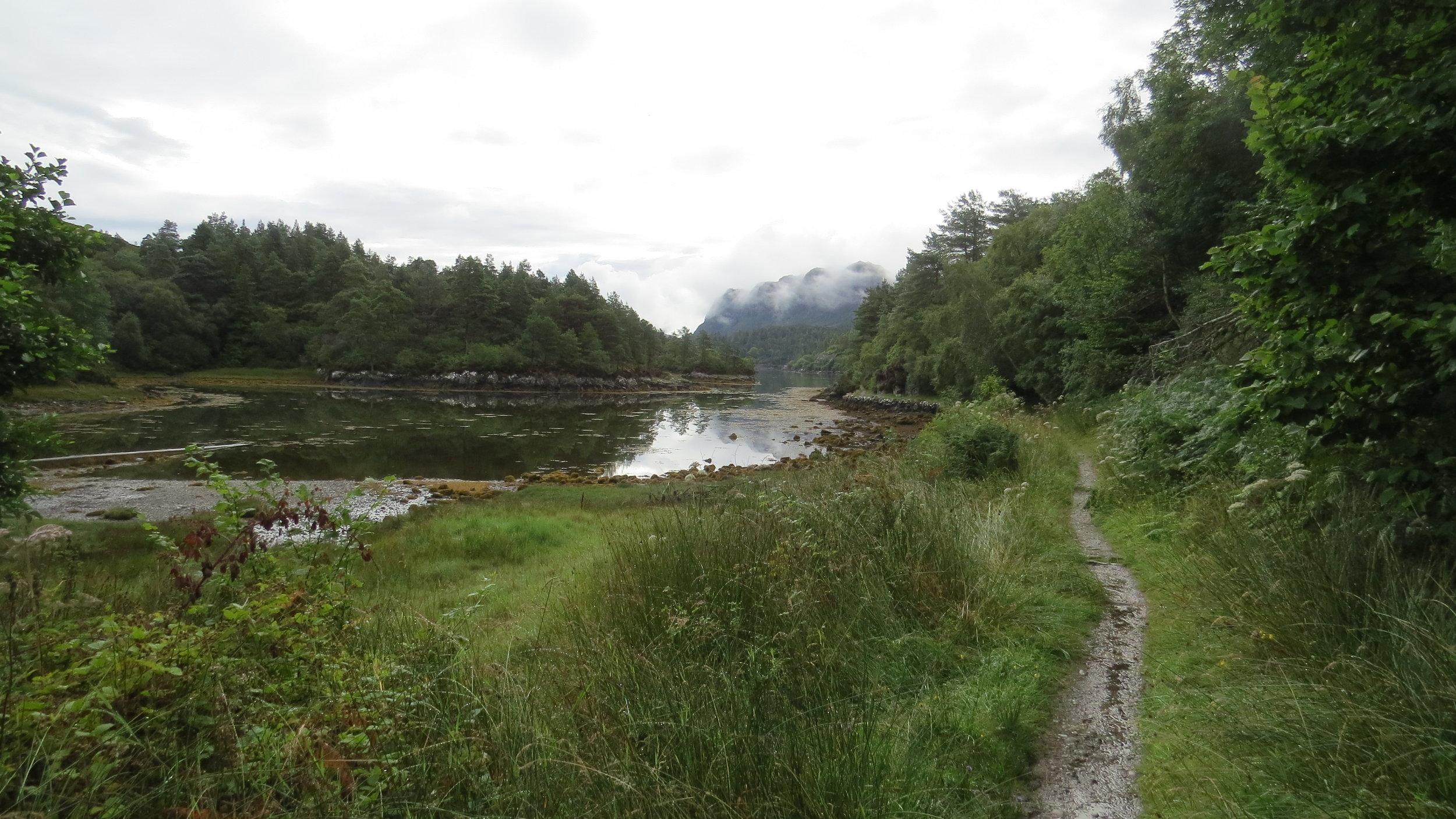 Path along the Loch