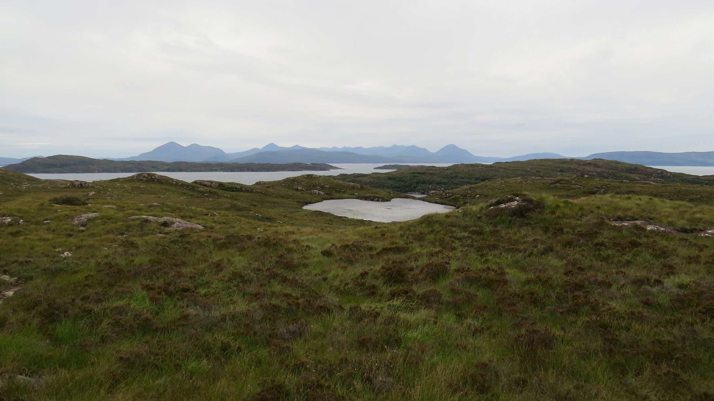 Looking towards Skye