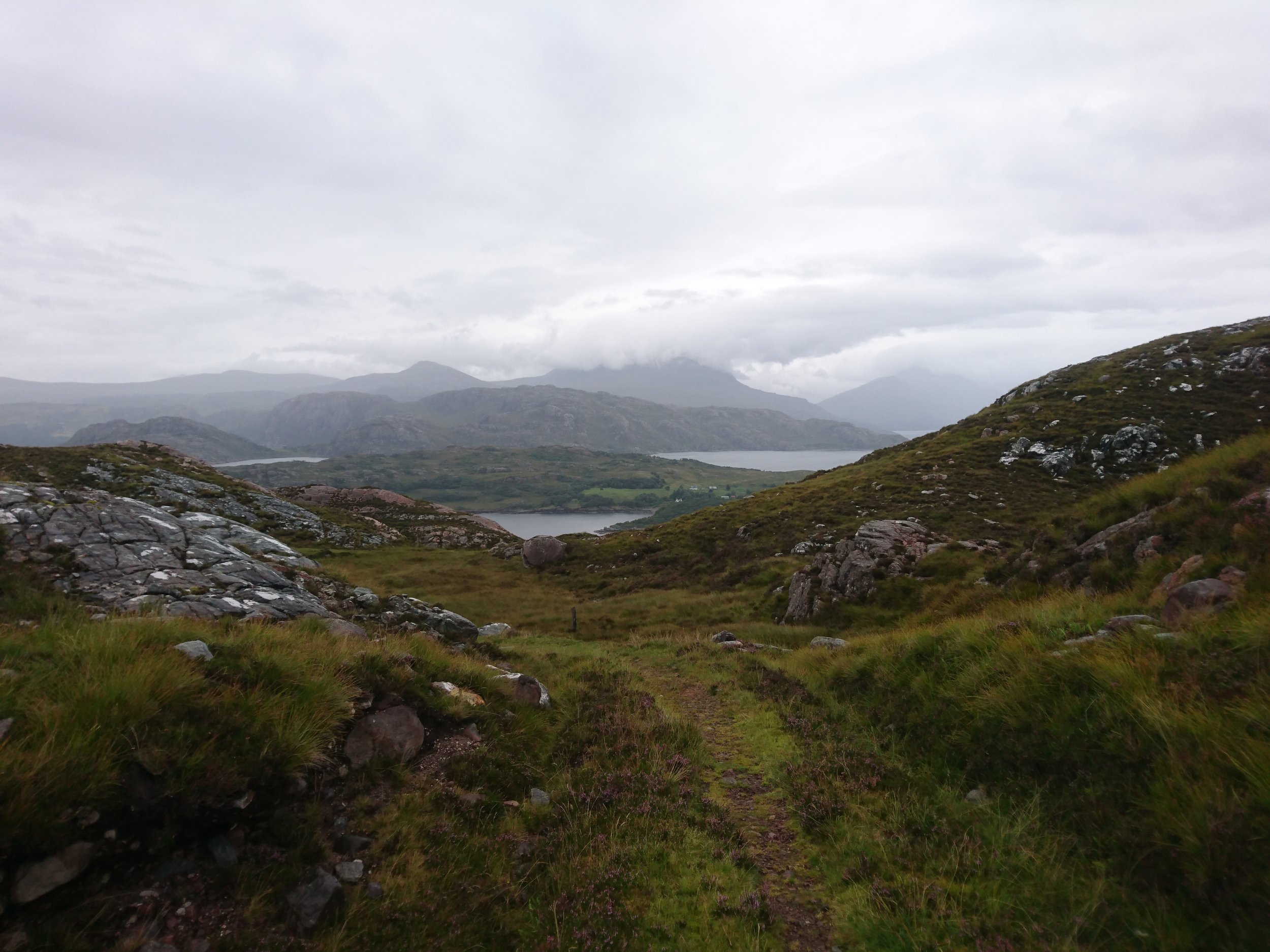 Looking forward from A'Bhainlir