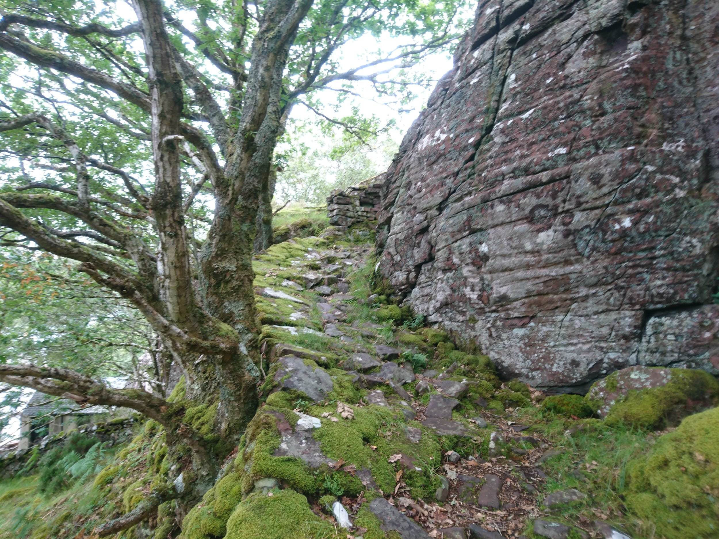 Ancient Path out of Inveralligin