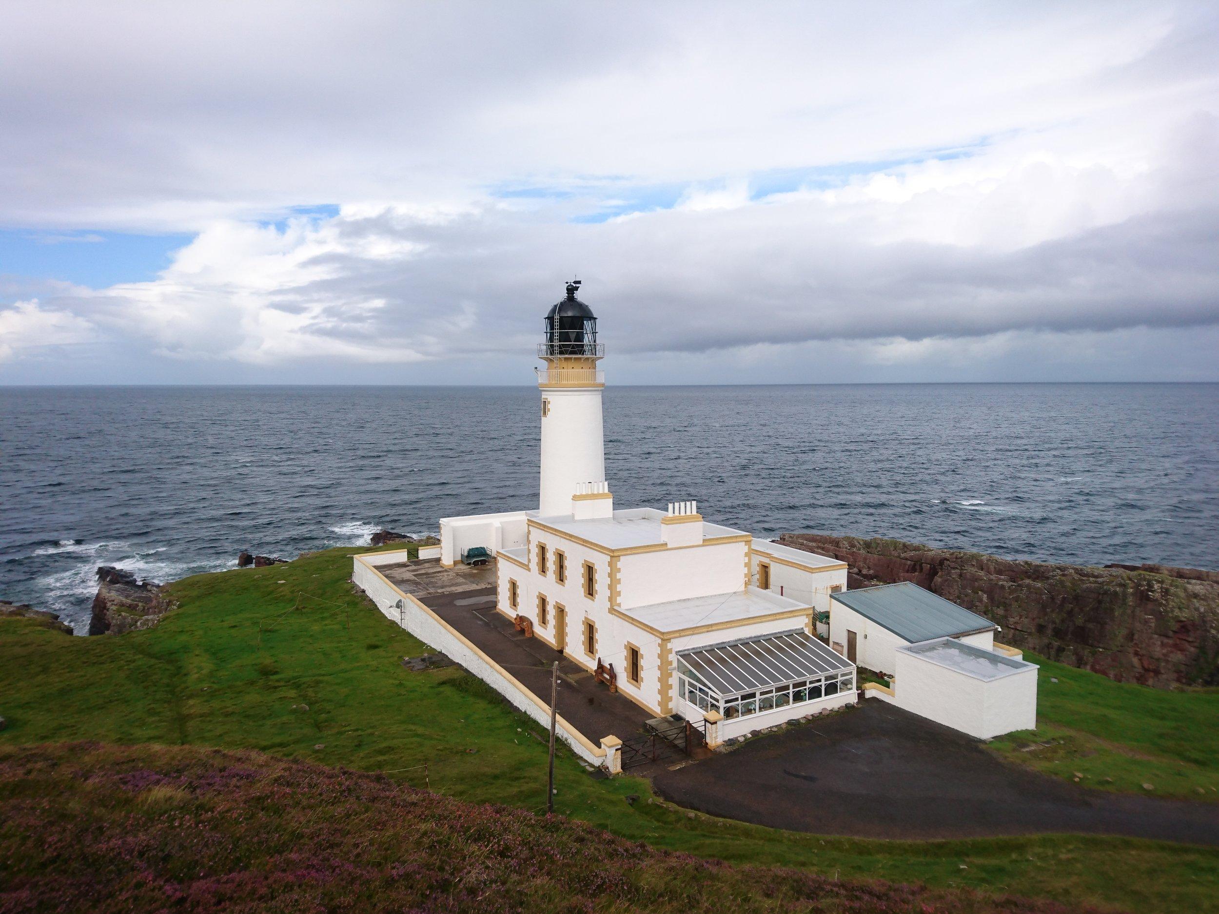 Rubha Rheid Lighthouse