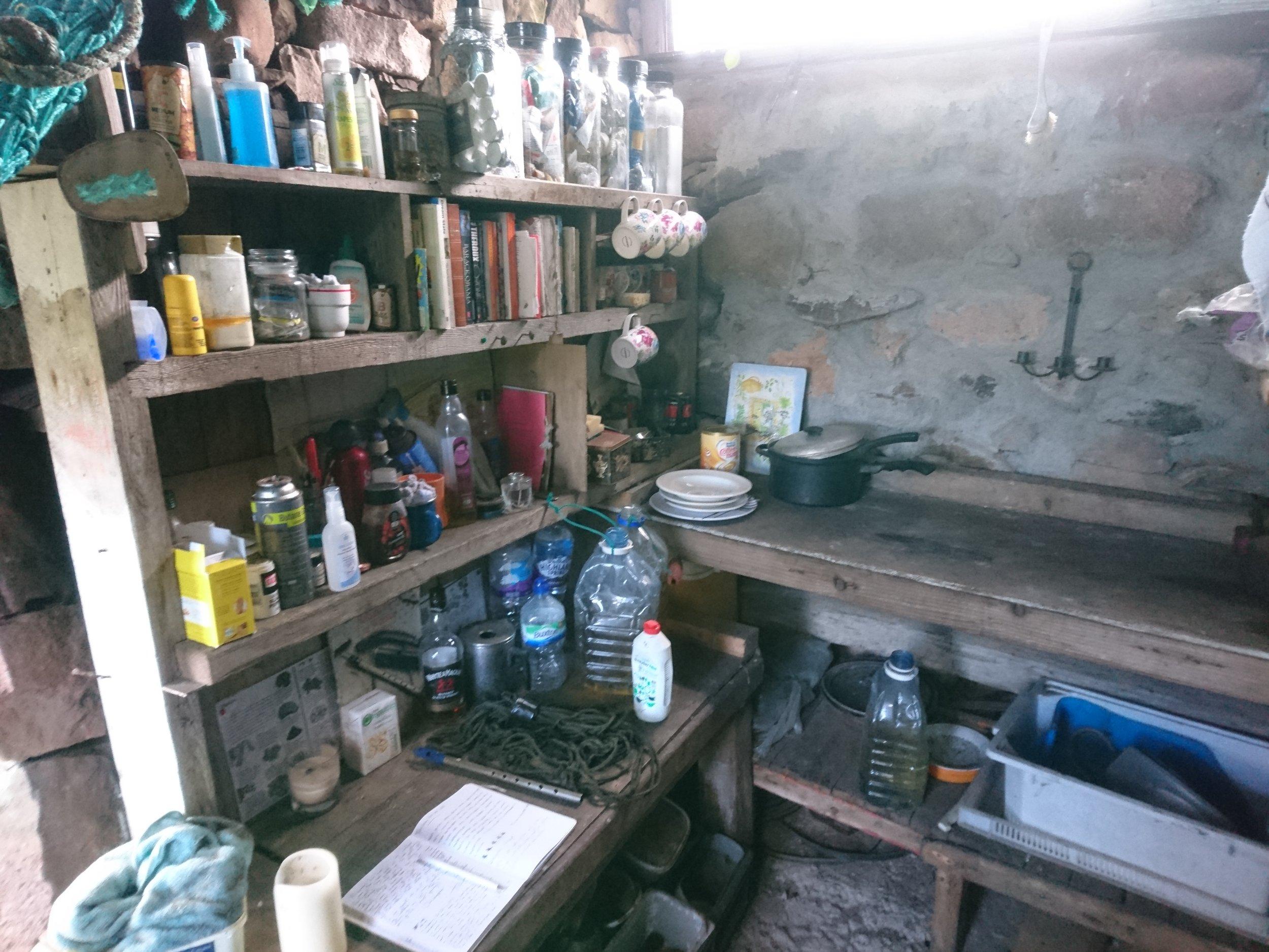 Ivor's Bothy Interior