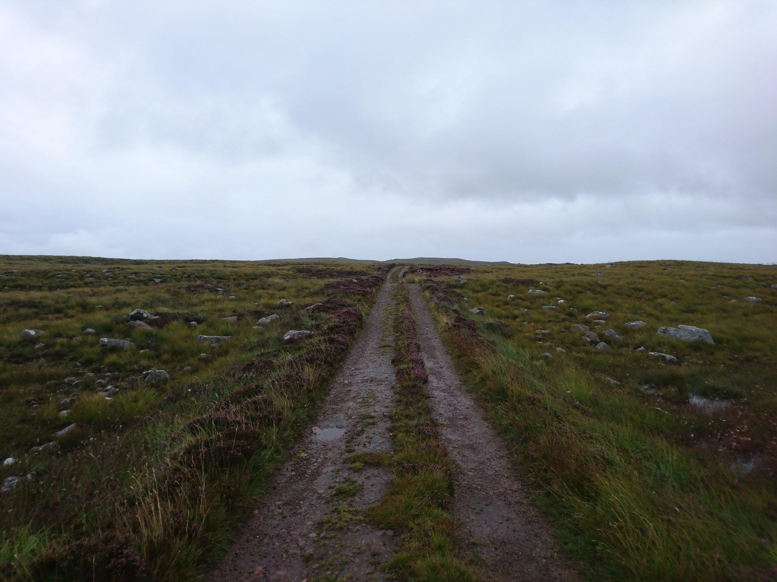 Track from Slaggan