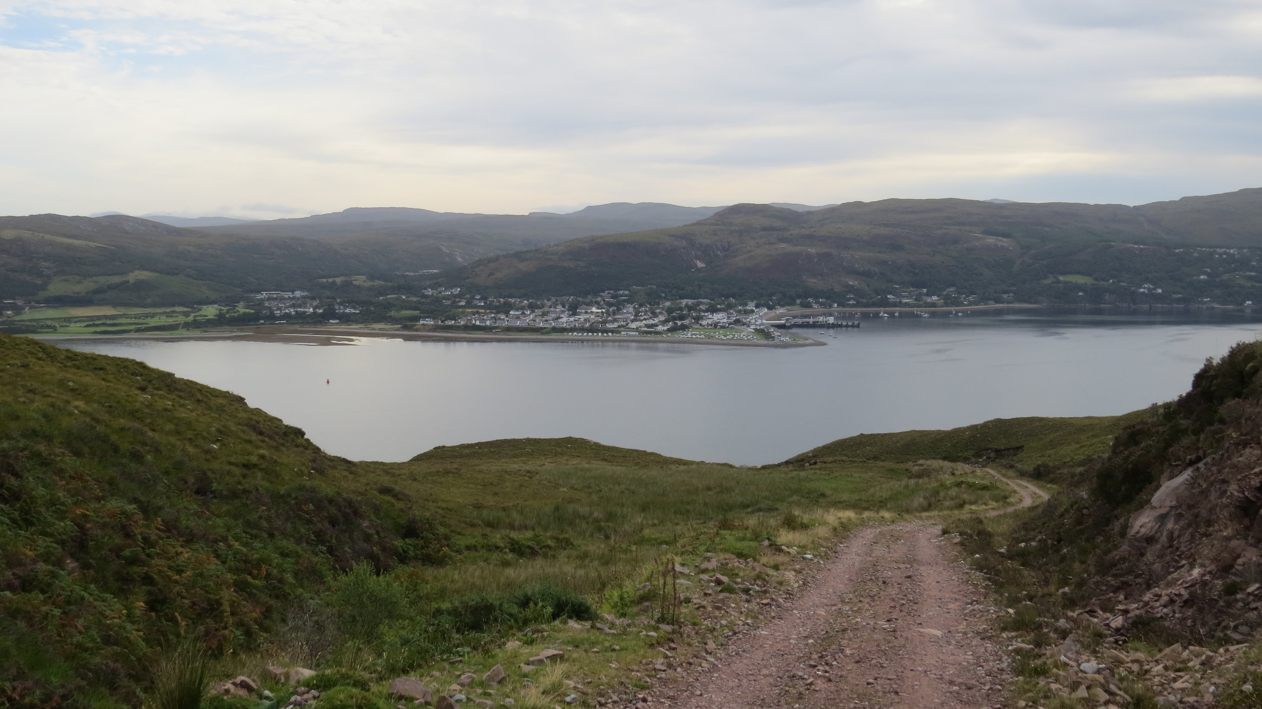 Ullapool over the Loch