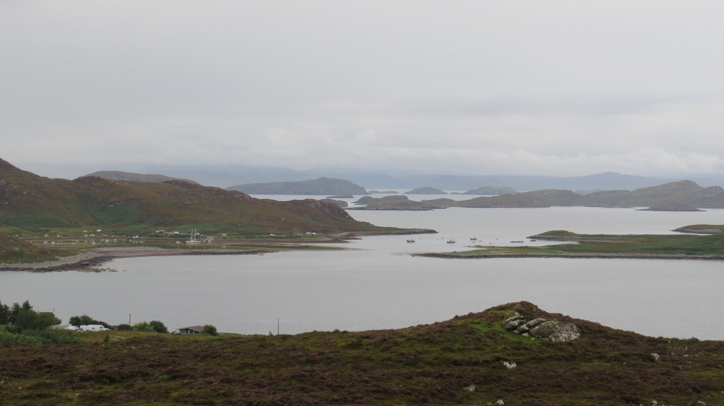 Looking back to Old Dornie