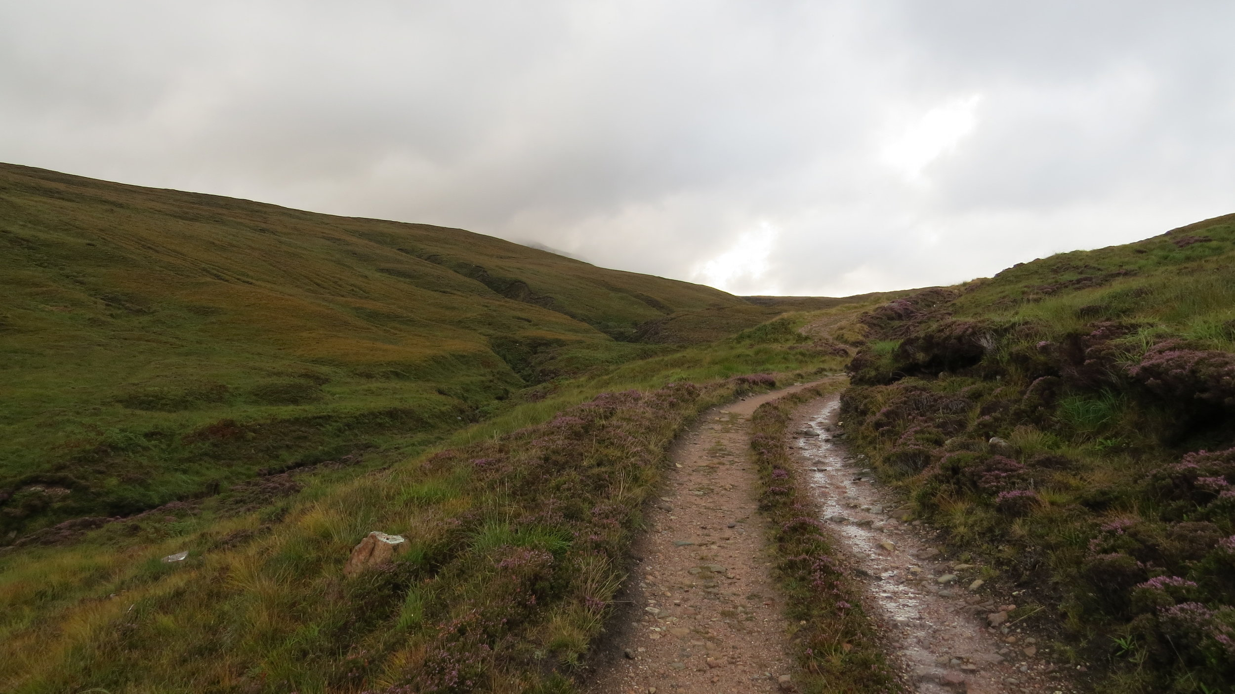 Track from Kearvaig