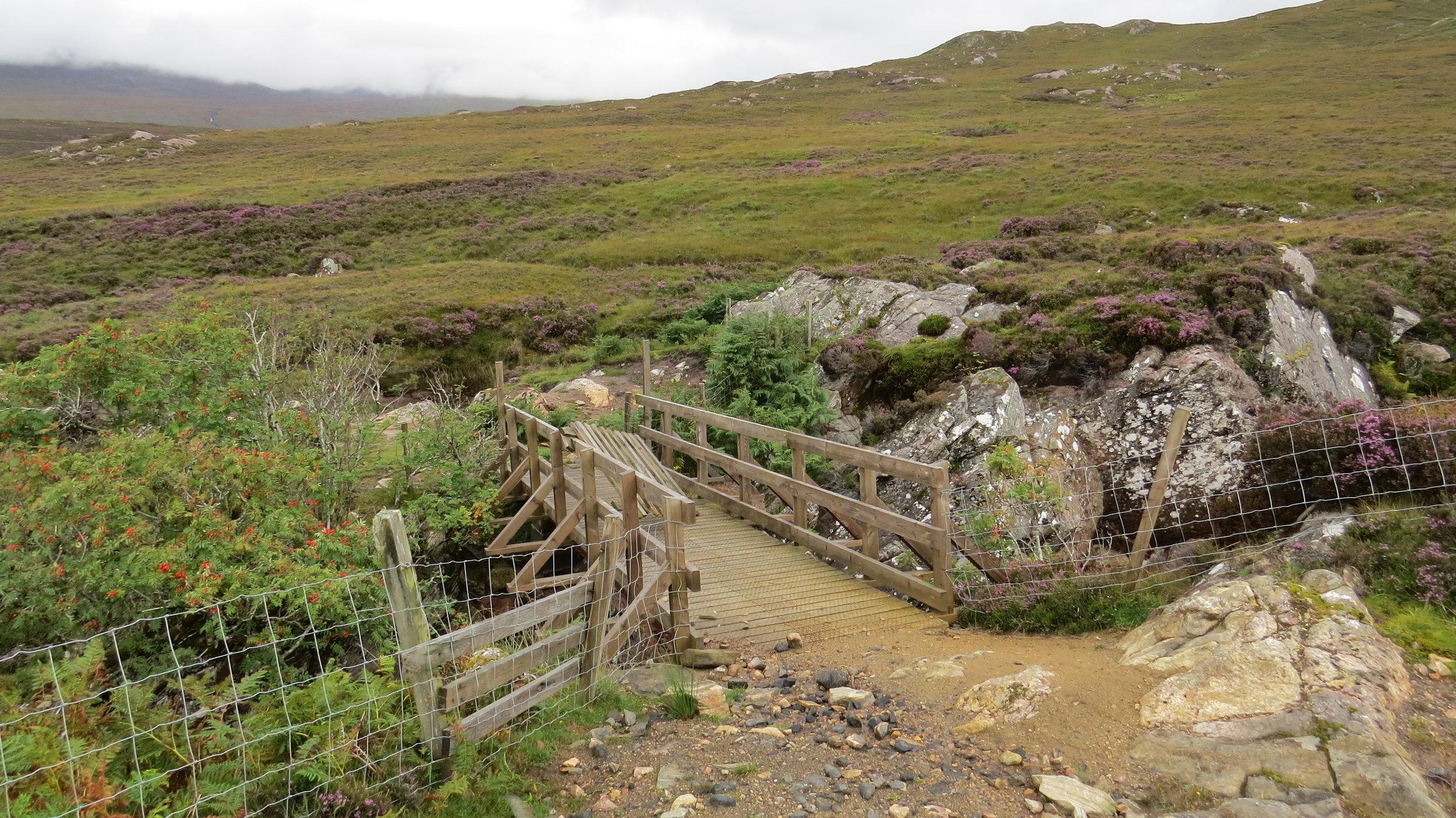 The Footbridge Exists!