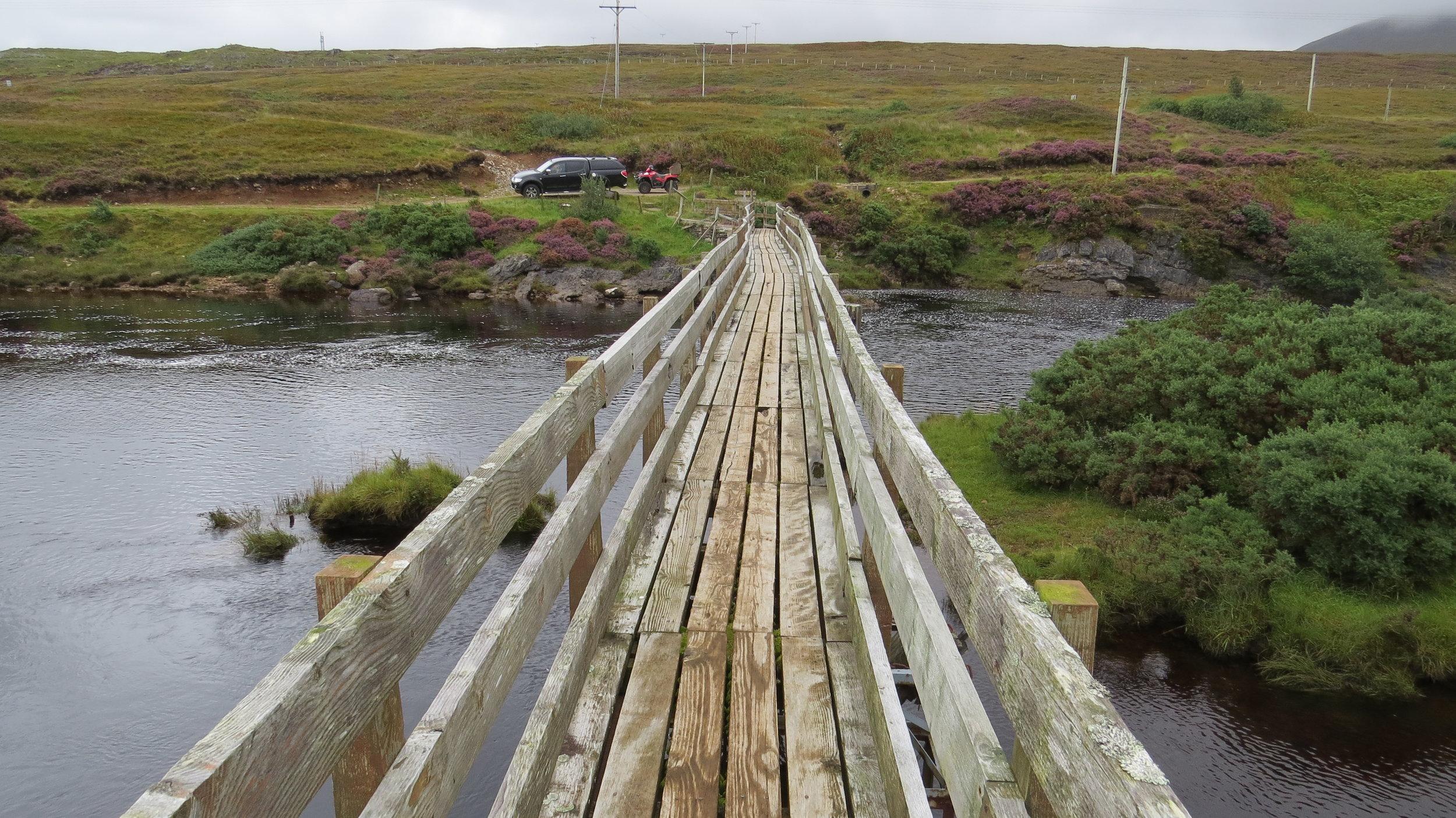 Bridge to the Main Road