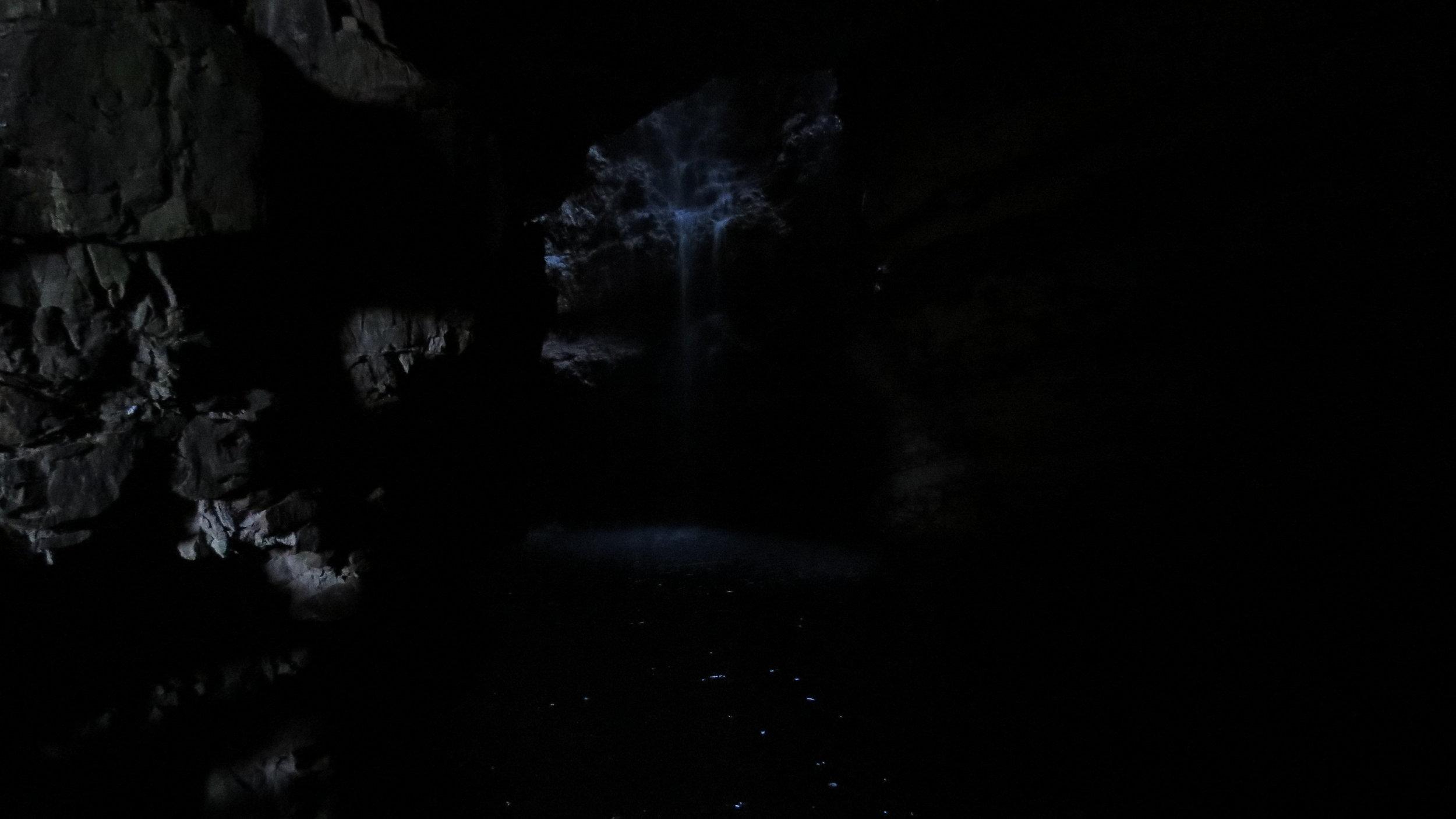 Smoo Cave Waterfall