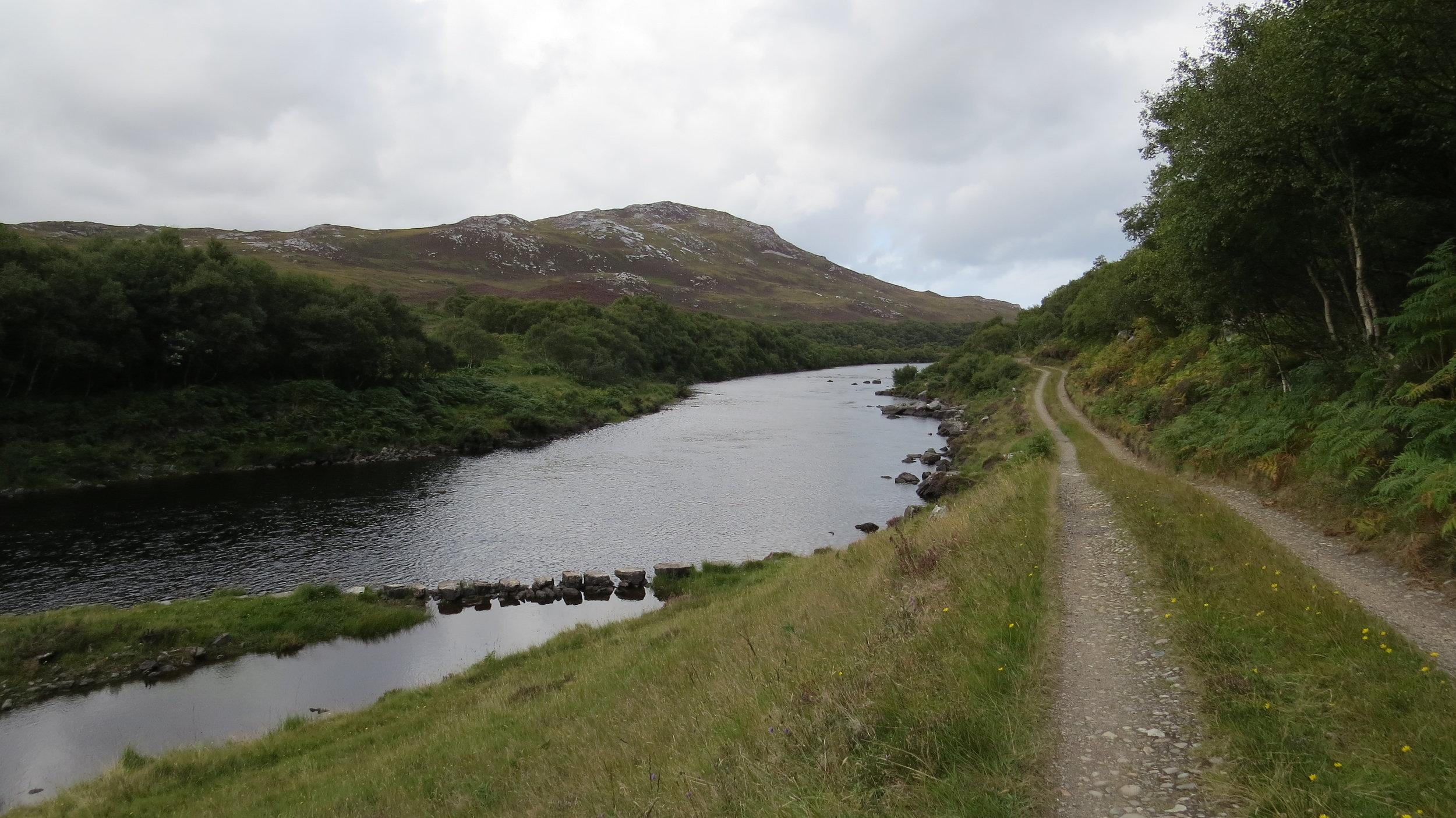 Track from Hope Bridge