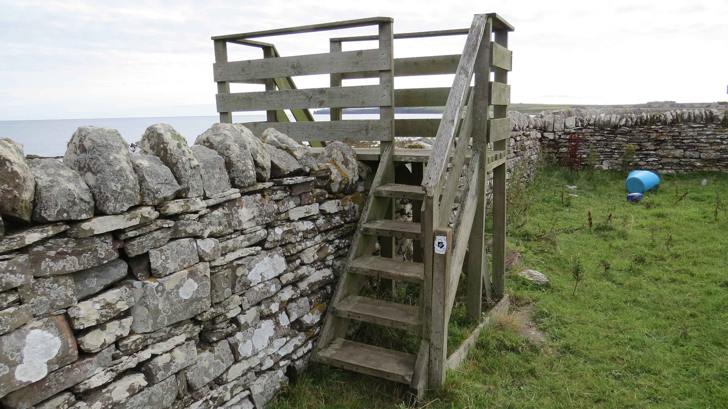 Serious Dry Stone Wall Stile