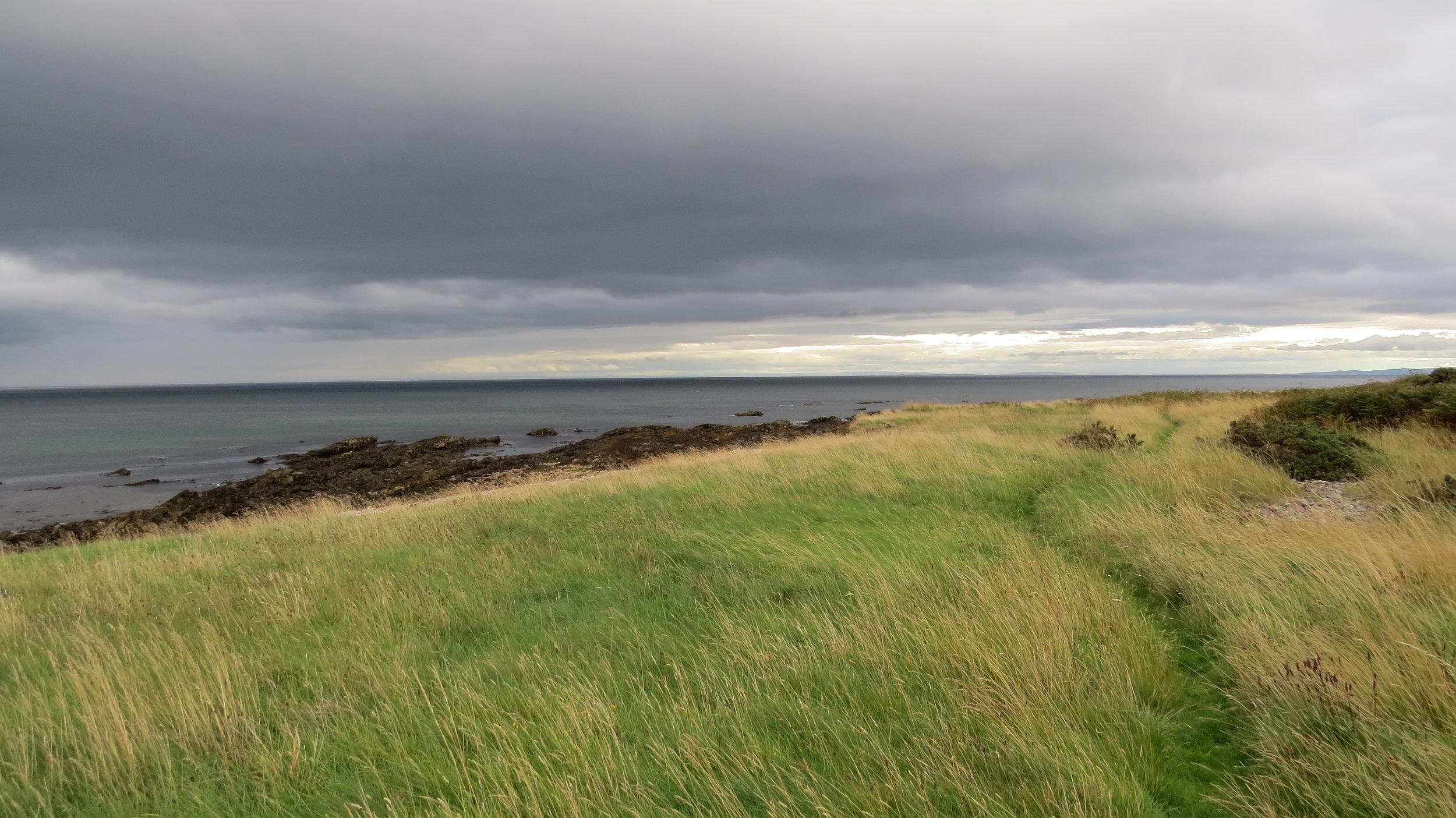 Path behind Beach