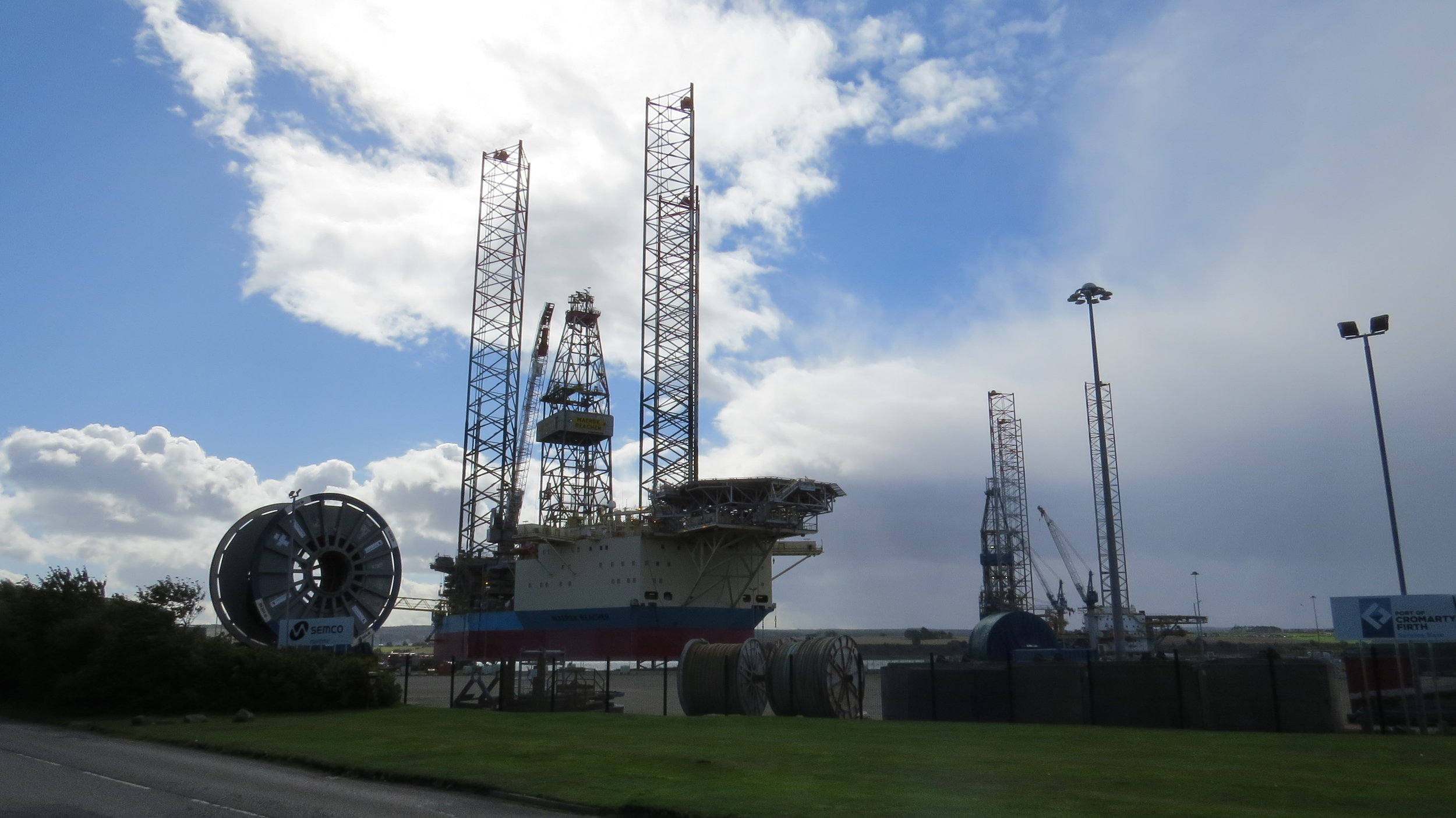 Industry on Outskirts of Invergordon