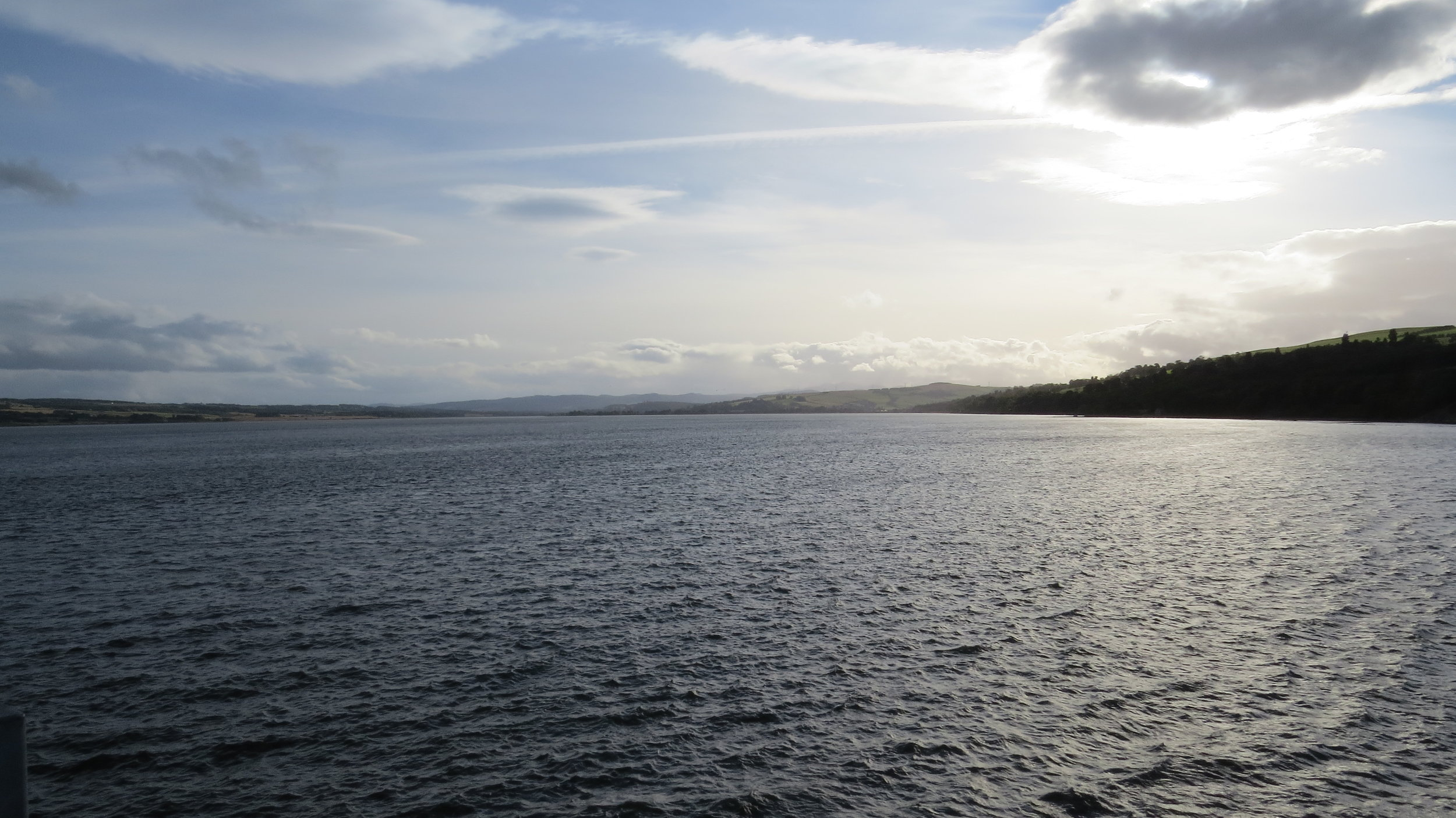View from Cromarty Bridge