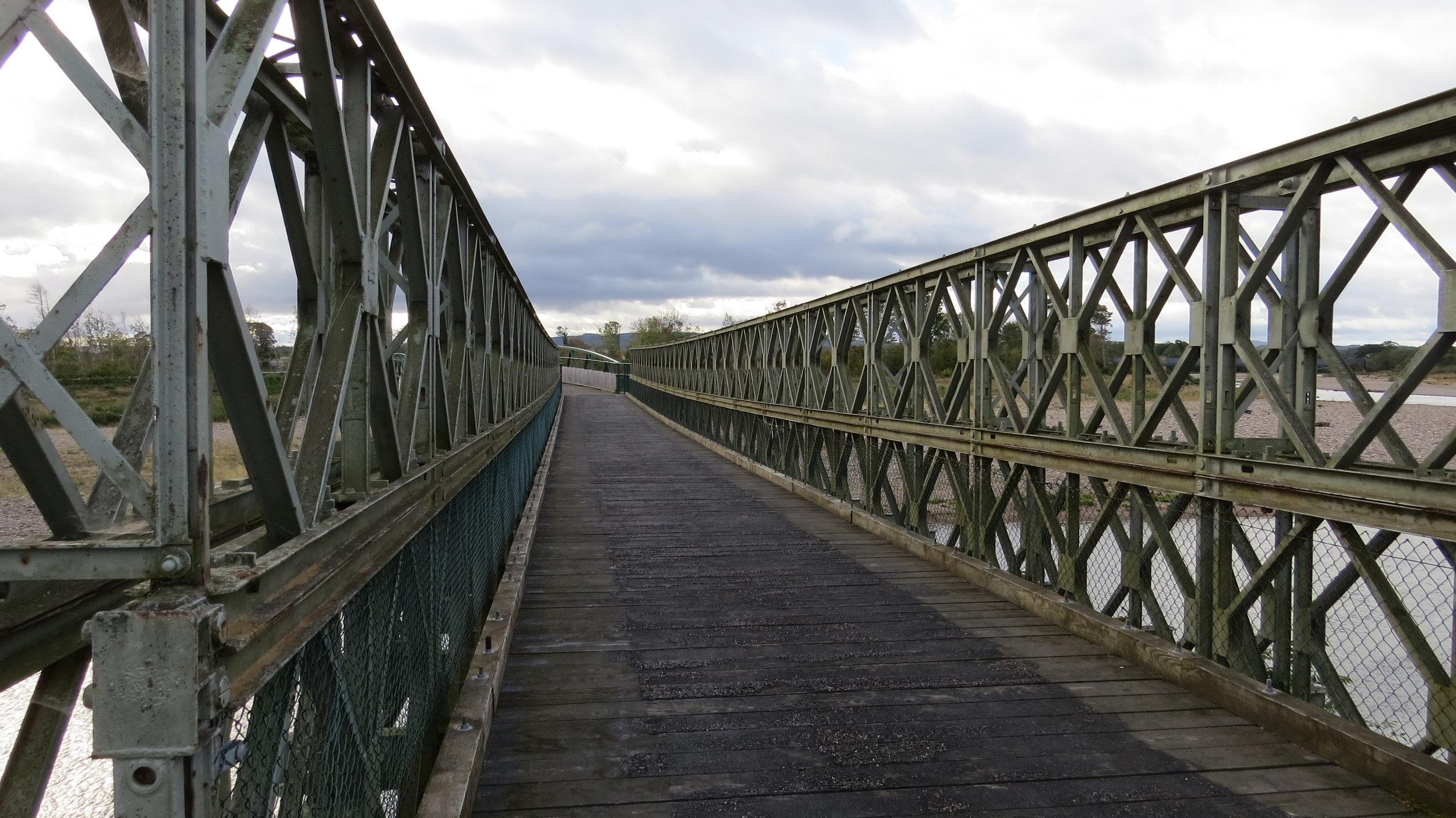 Bridge across Findhorn River