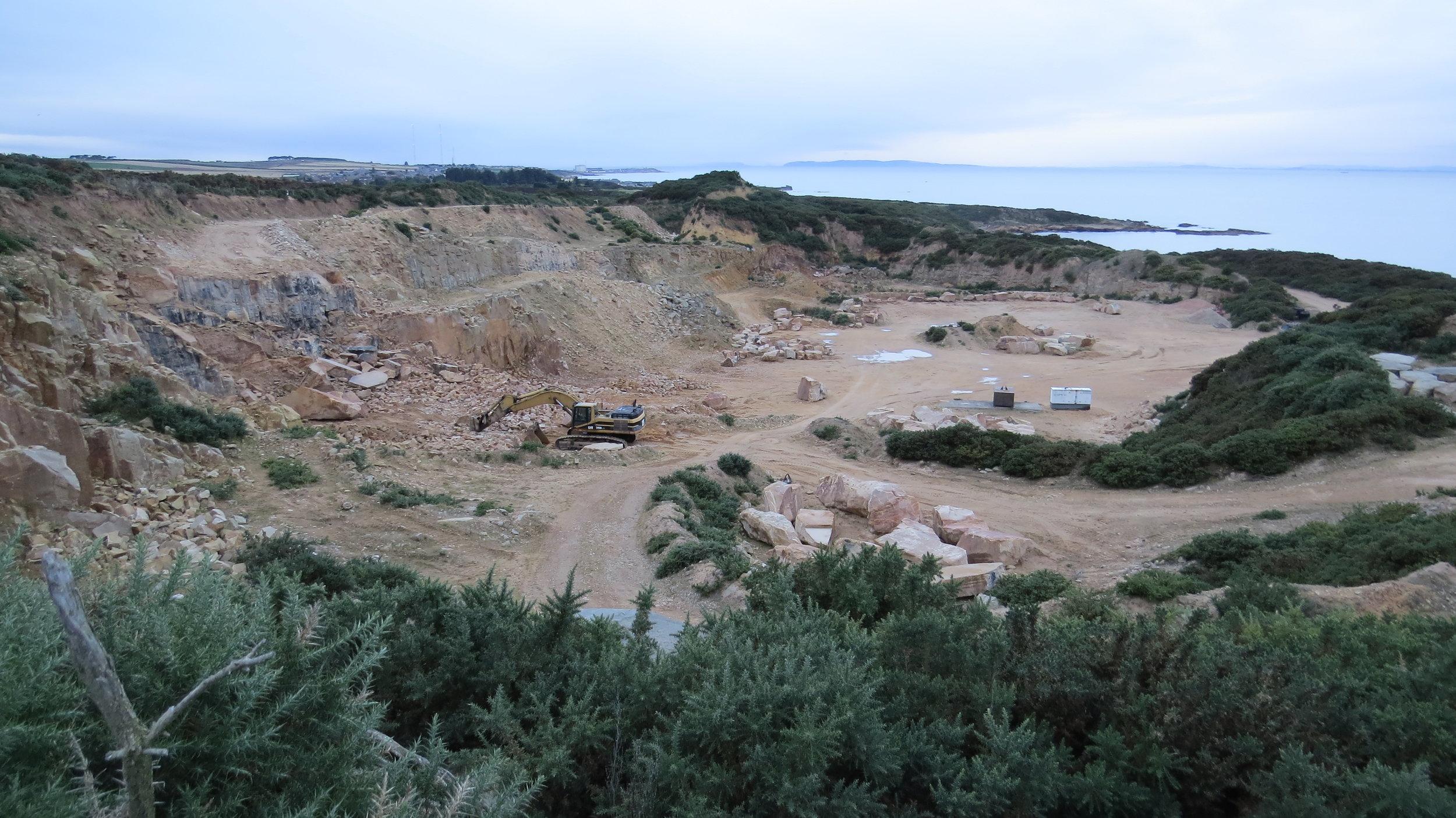 Clashach Quarry