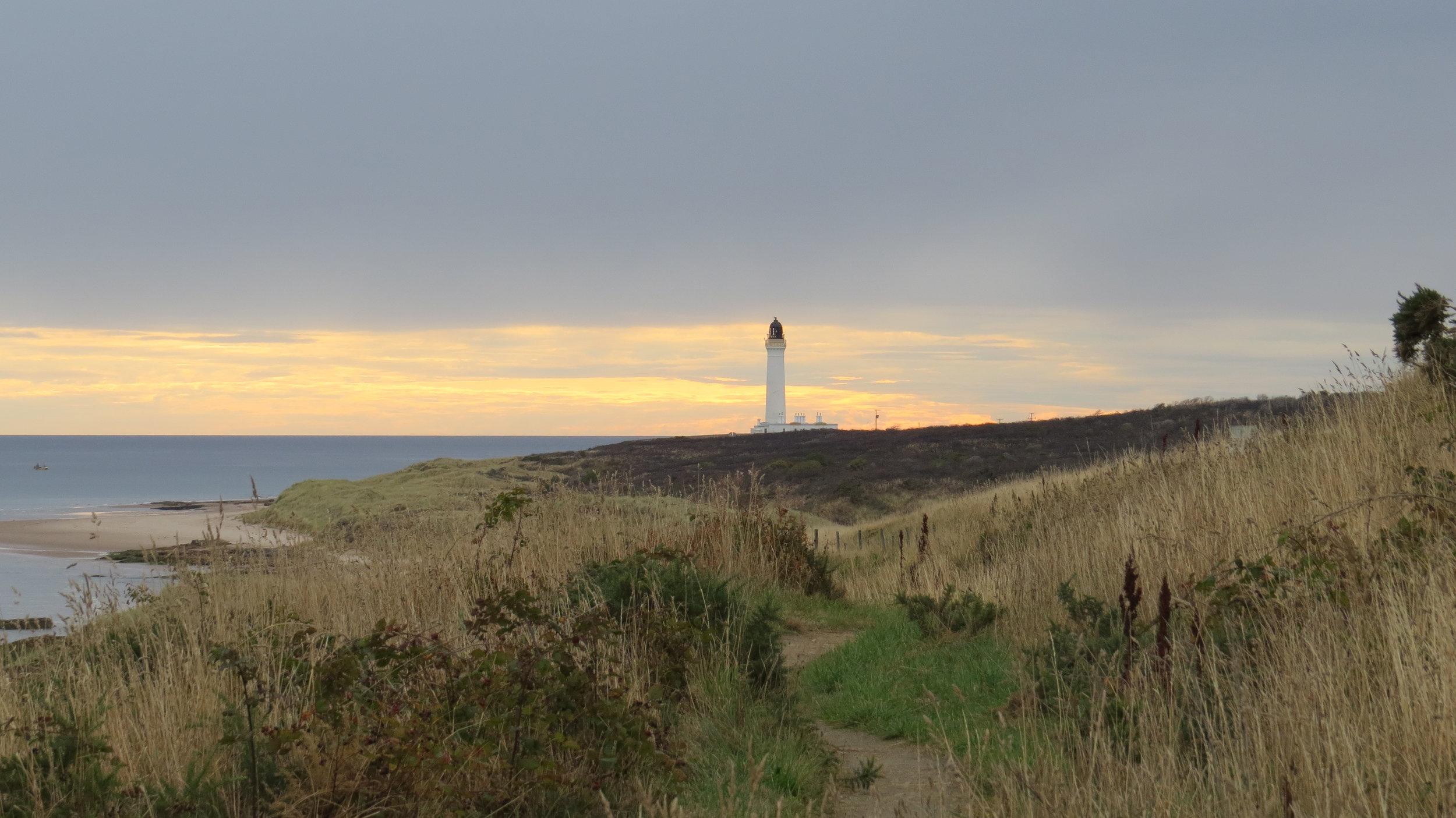 Covesea Lighthouse