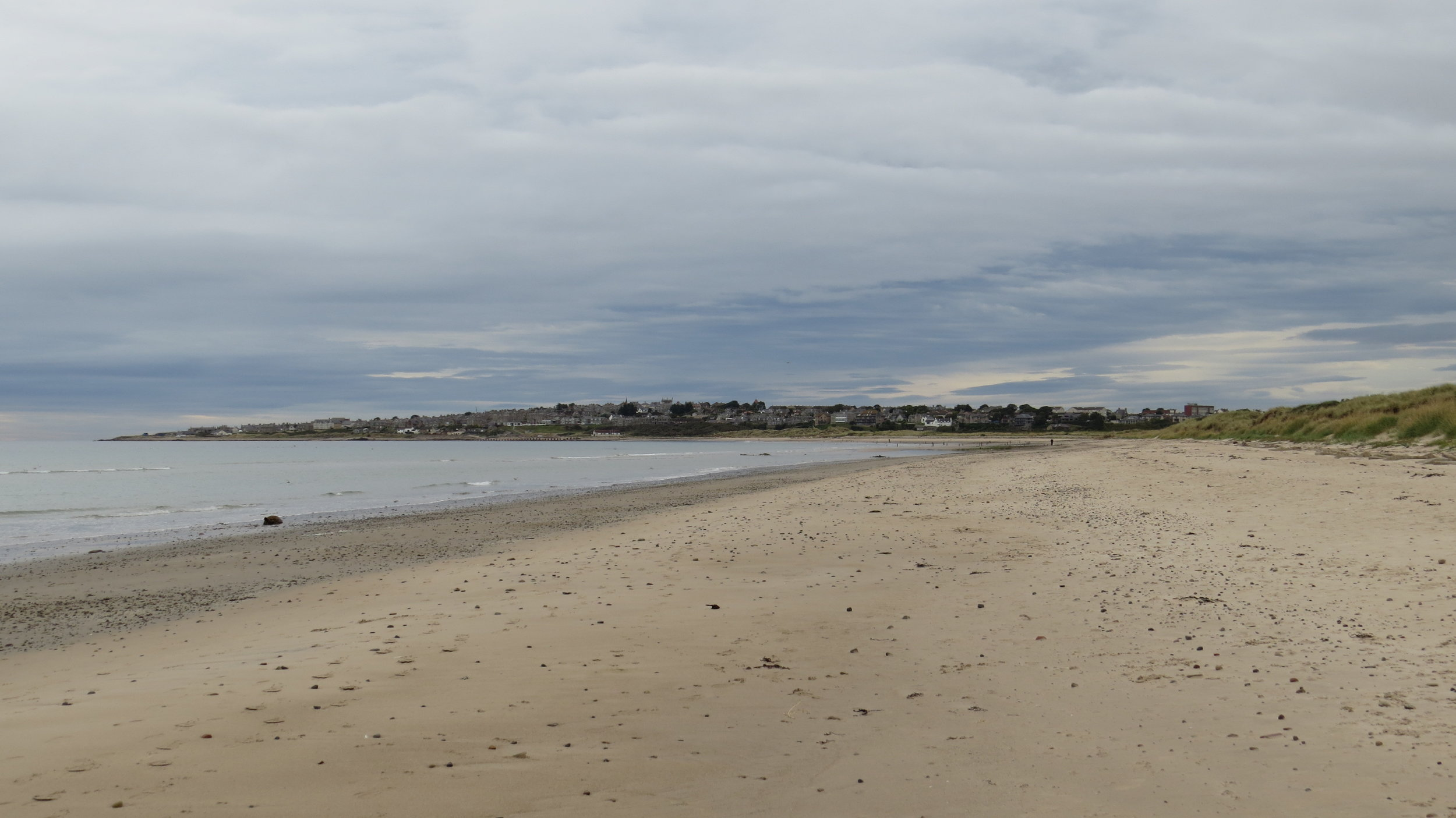 Approaching Lossiemouth